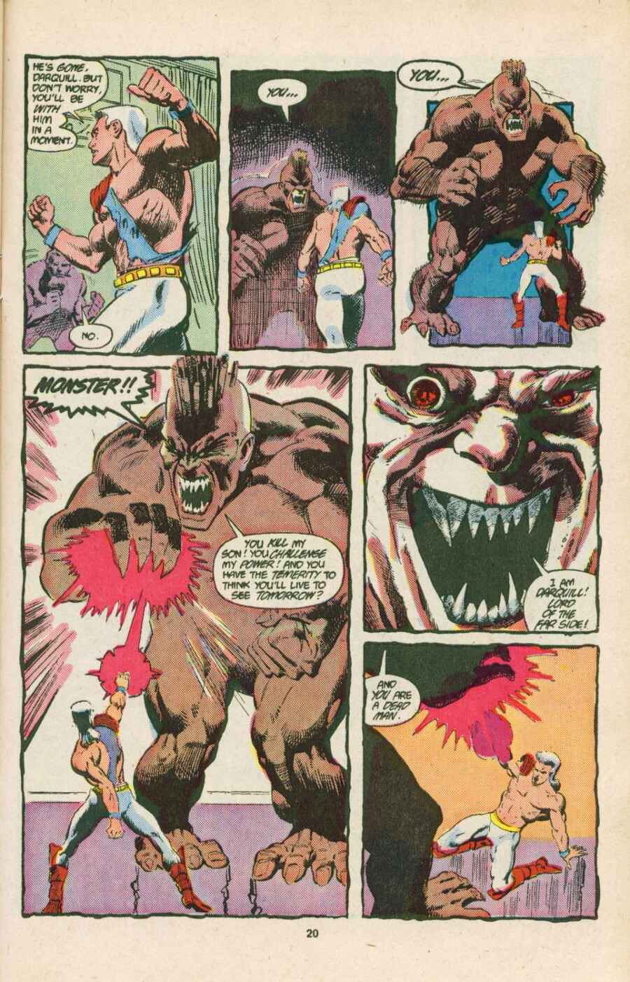 Read online Justice (1986) comic -  Issue #15 - 21
