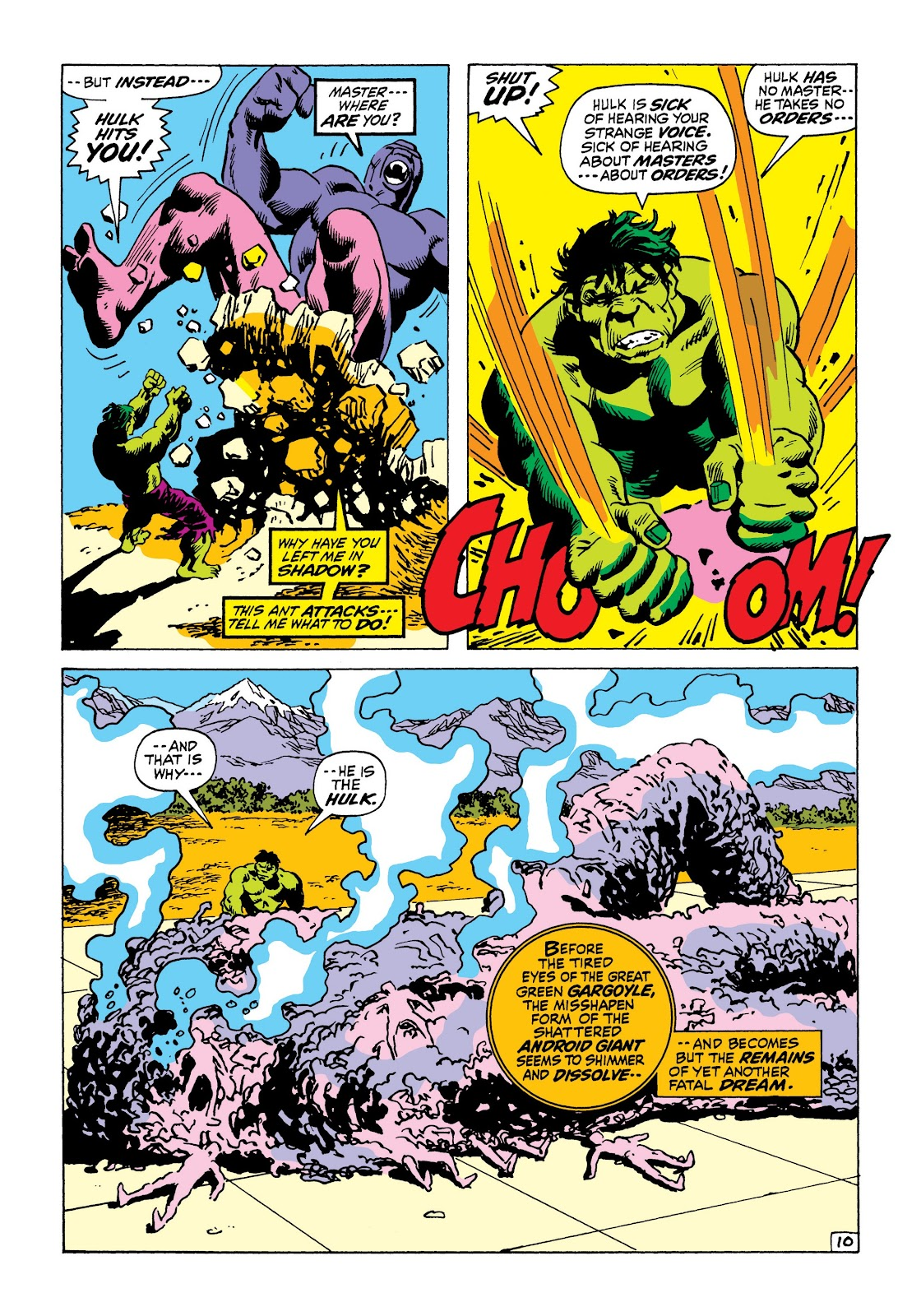 Read online Marvel Masterworks: The Incredible Hulk comic -  Issue # TPB 8 (Part 1) - 73