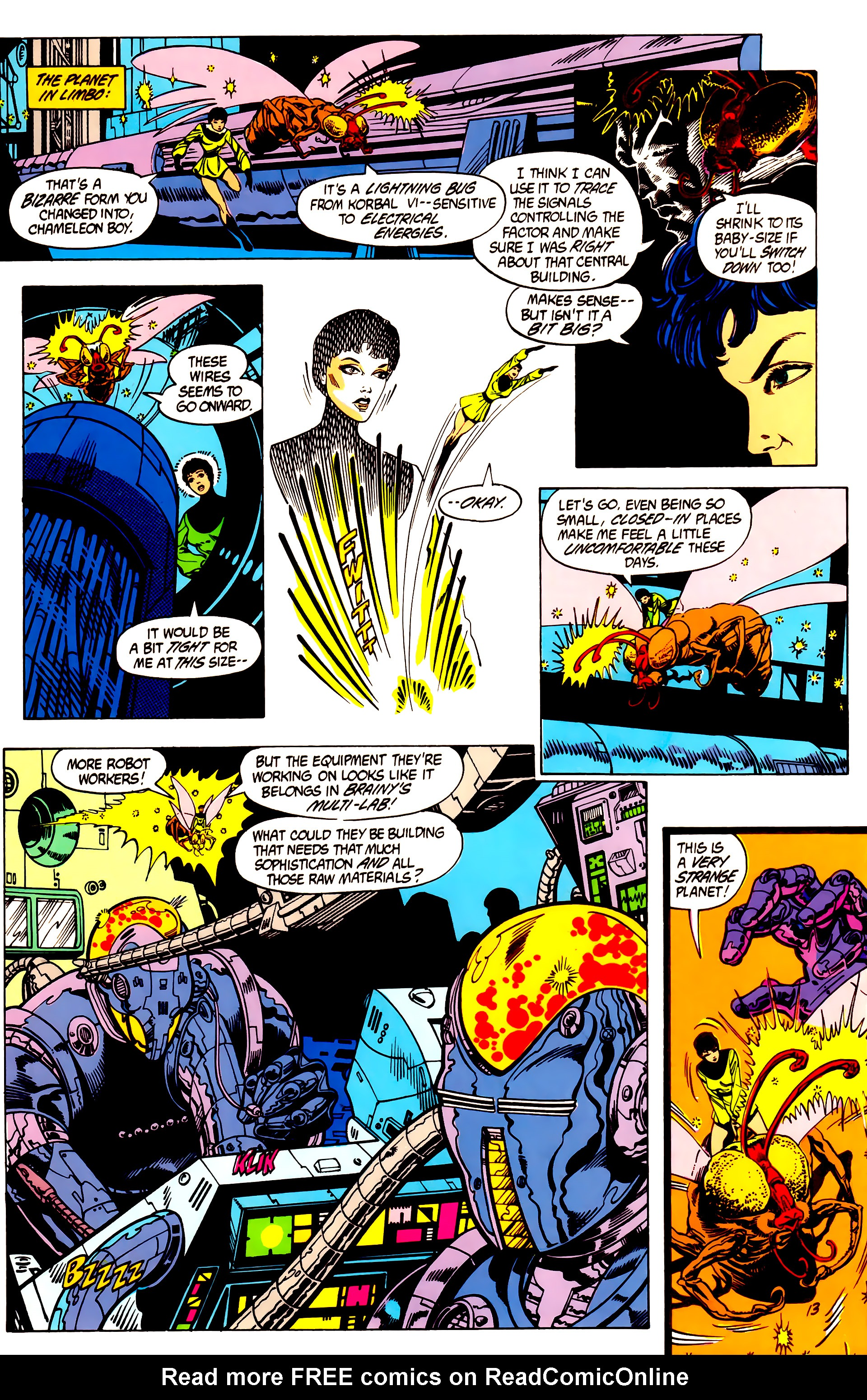 Legion of Super-Heroes (1984) 7 Page 14