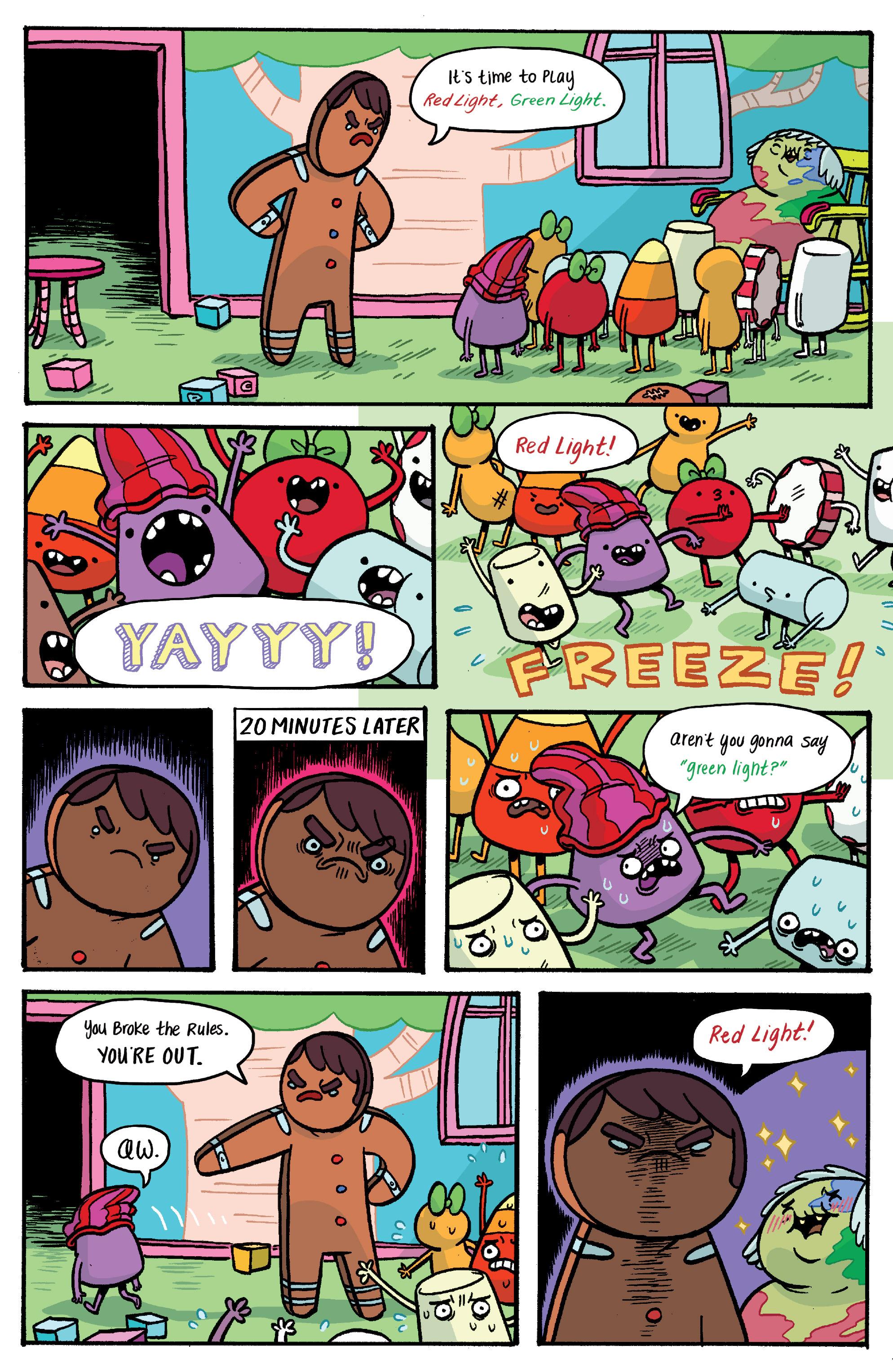Read online Adventure Time: Banana Guard Academ comic -  Issue #1 - 16