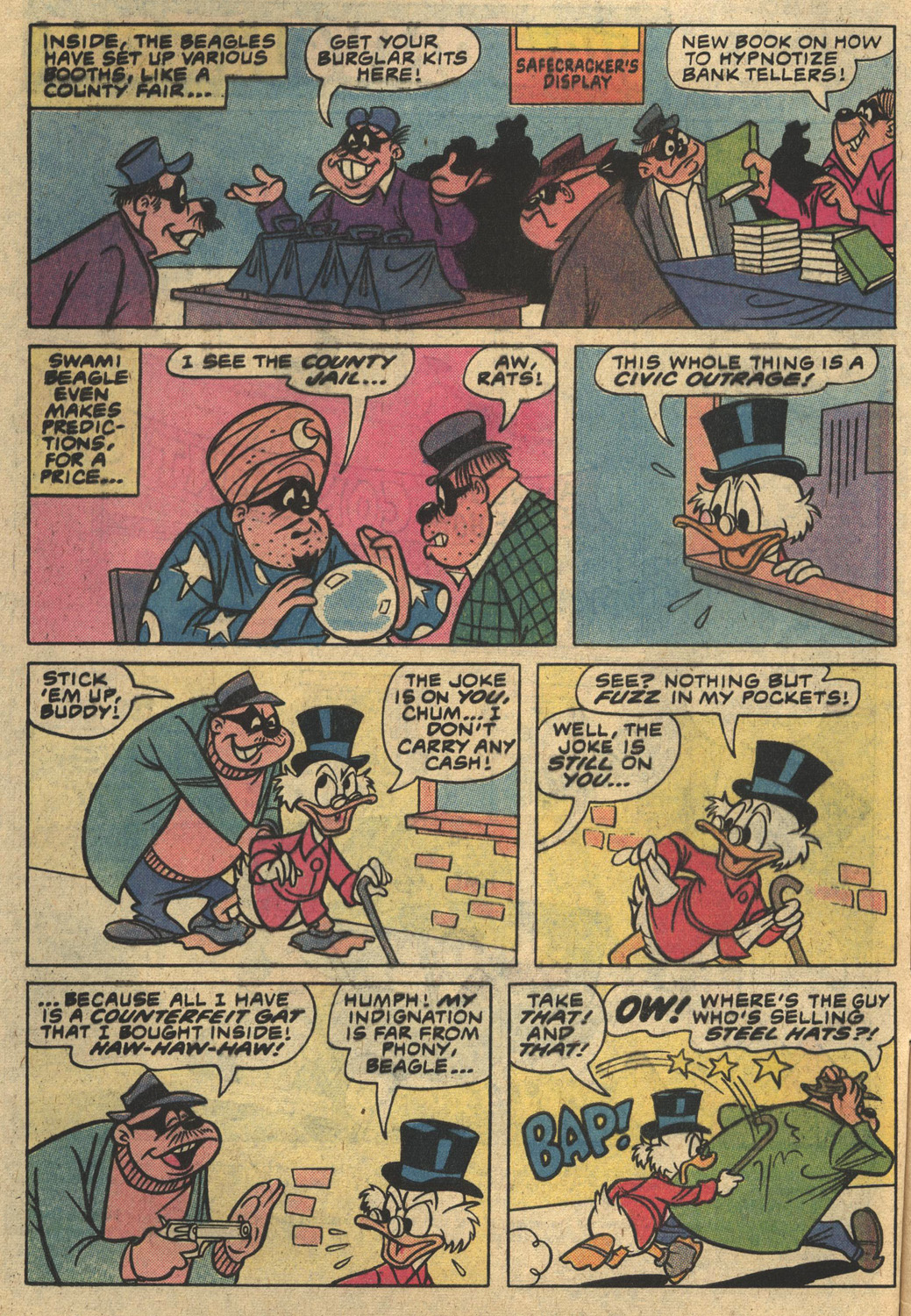 Read online Uncle Scrooge (1953) comic -  Issue #186 - 4