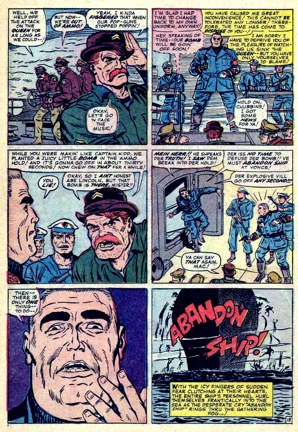 Read online Sgt. Fury comic -  Issue #26 - 26