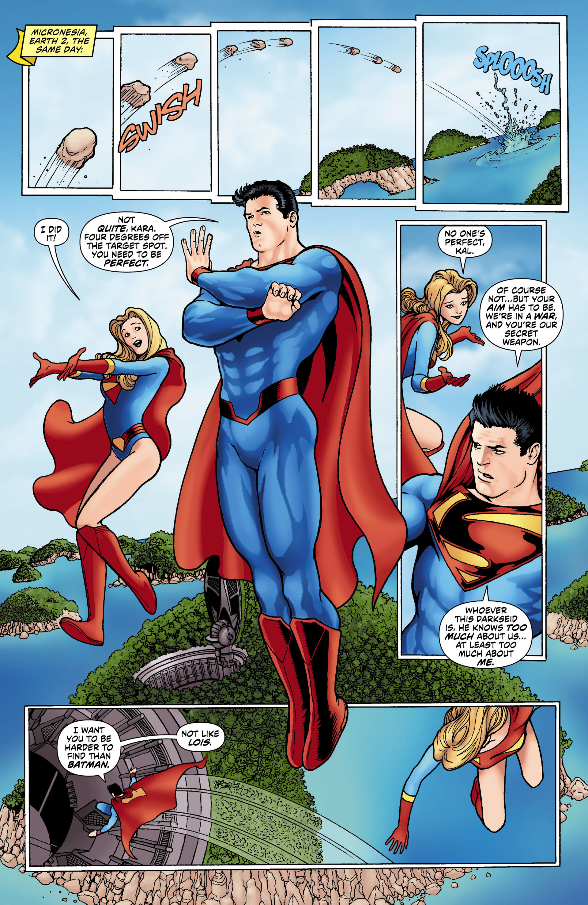 Read online Worlds' Finest comic -  Issue #0 - 10