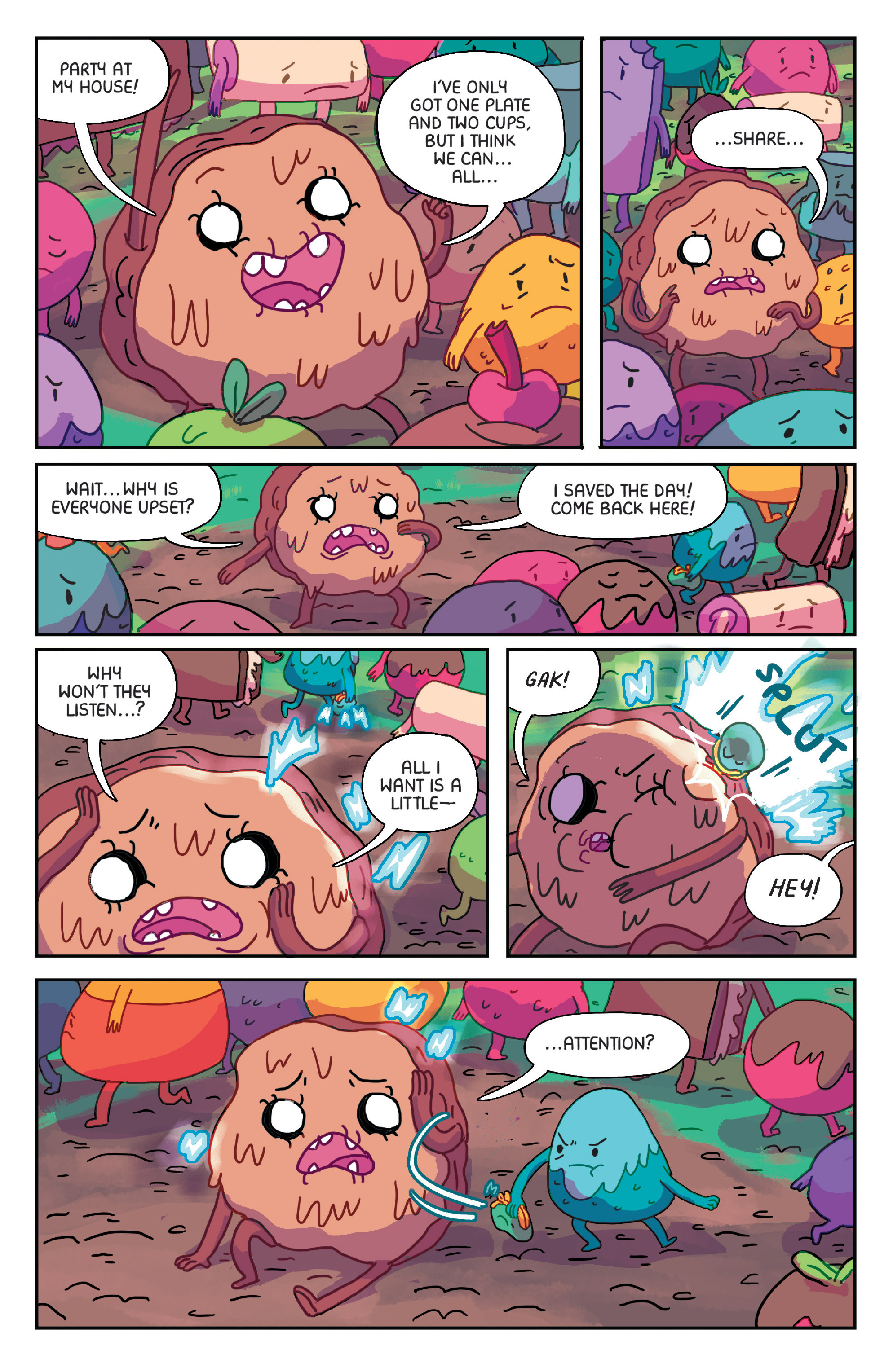 Read online Adventure Time: Marceline Gone Adrift comic -  Issue #1 - 22