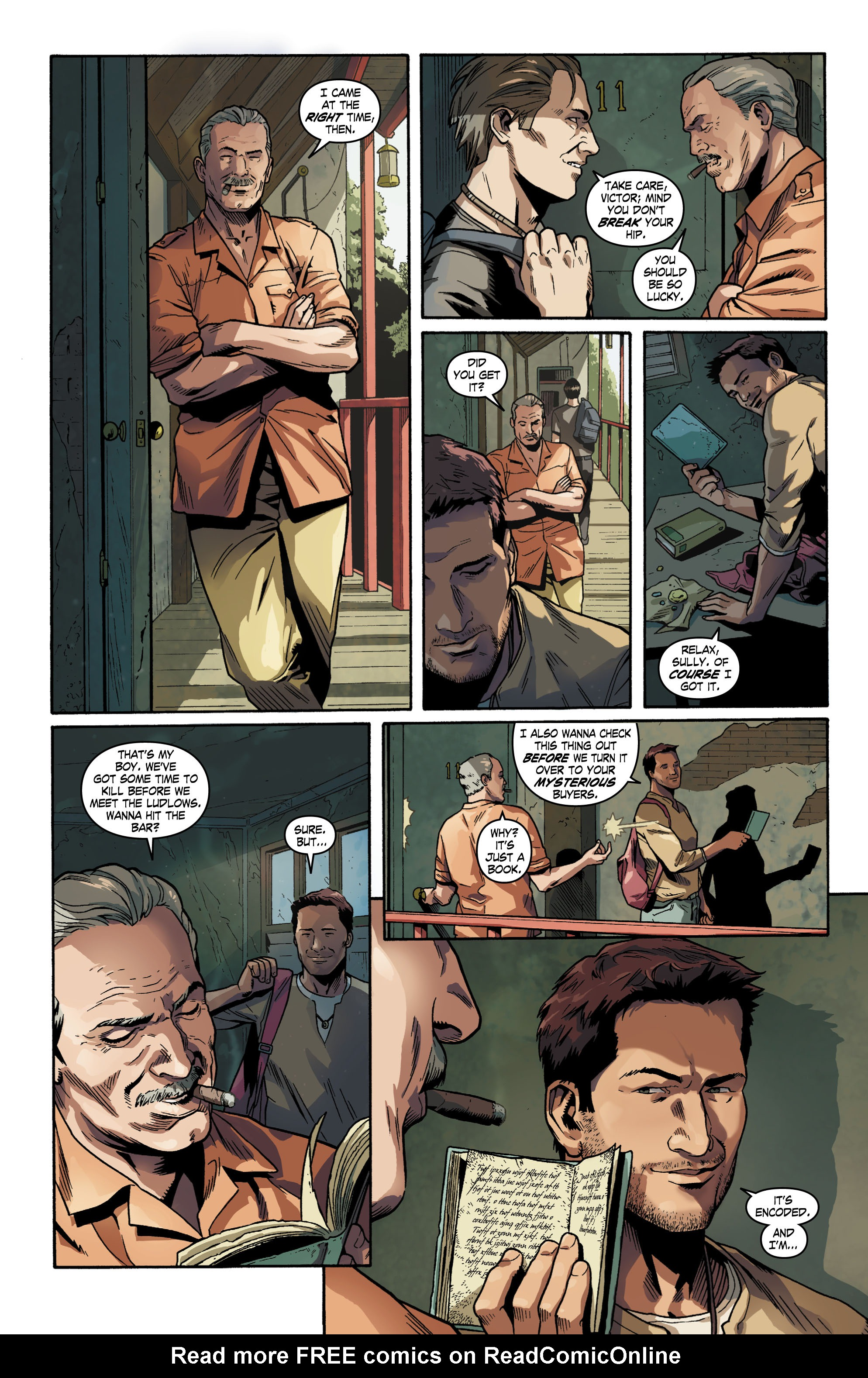 Read online Uncharted comic -  Issue #1 - 9