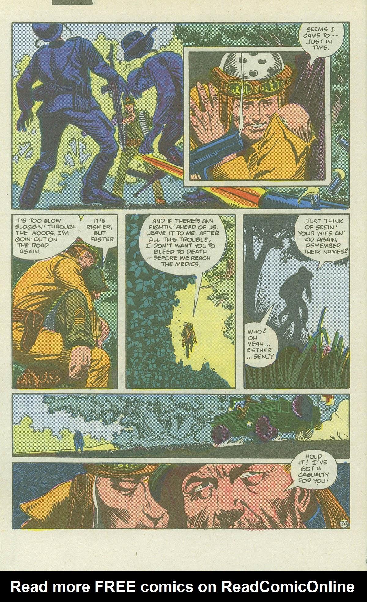 Read online Sgt. Rock comic -  Issue #419 - 26