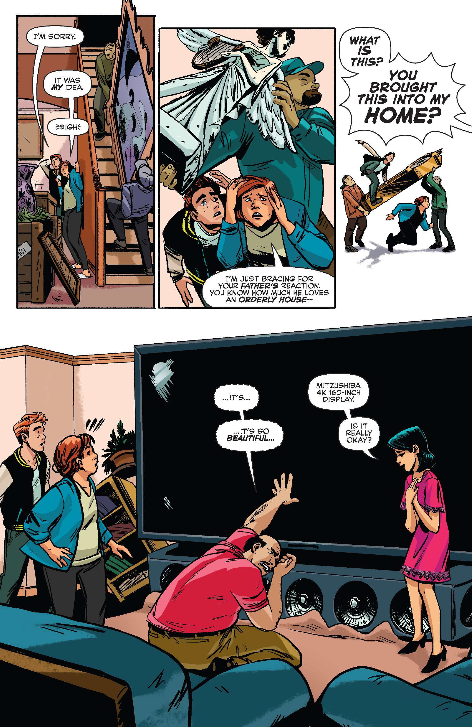 Read online Archie (2015) comic -  Issue #9 - 9