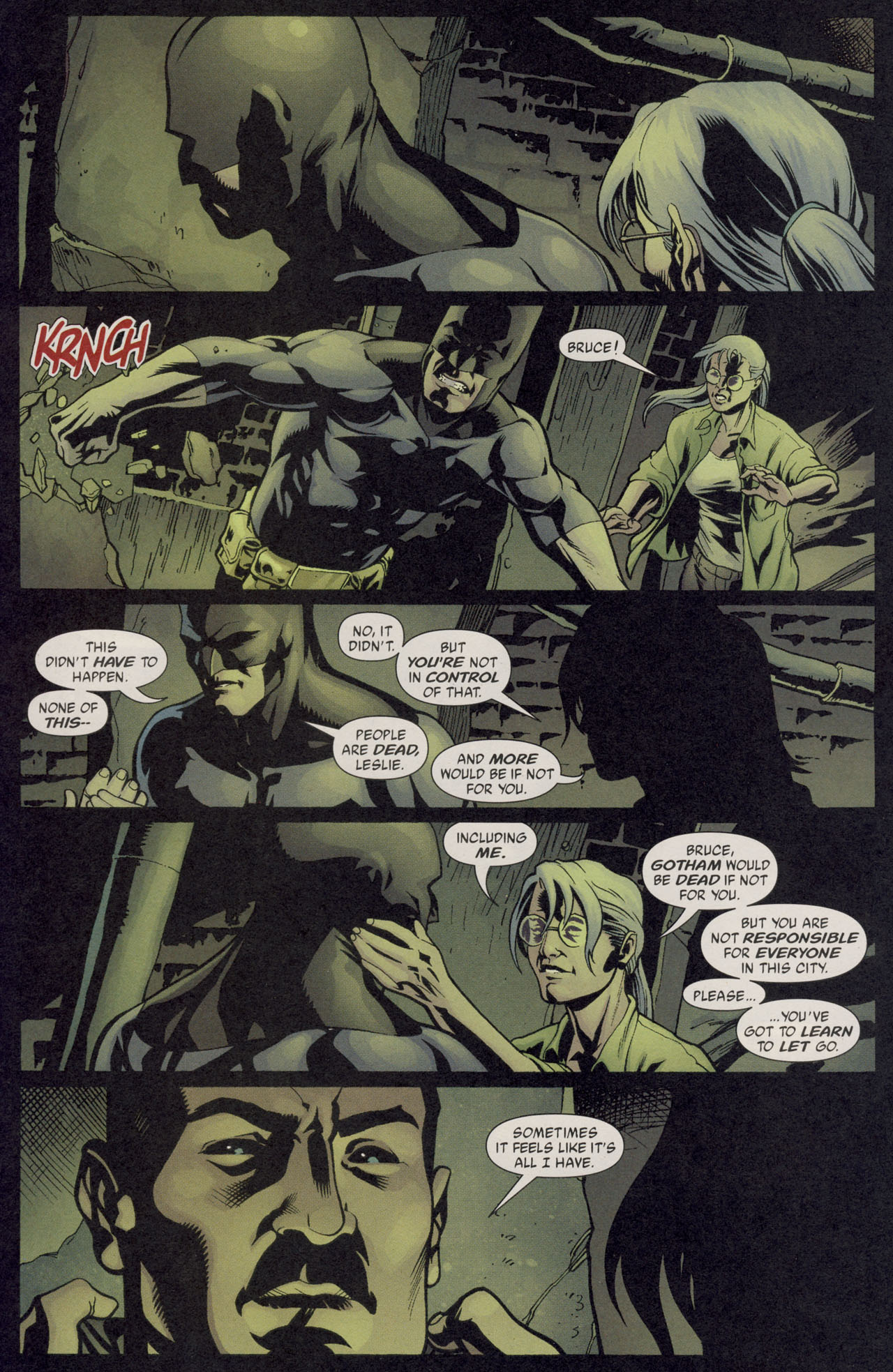 Read online Batman War Drums comic -  Issue # TPB - 86