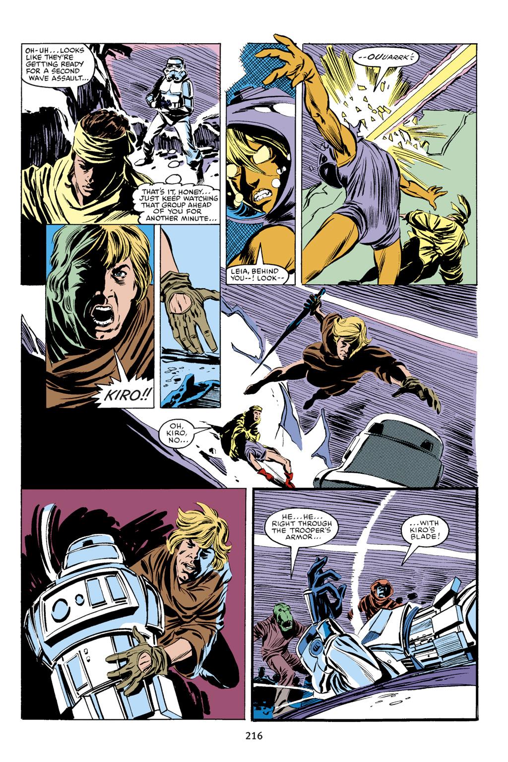Read online Star Wars Omnibus comic -  Issue # Vol. 18 - 203