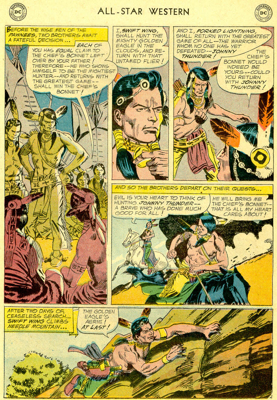 Read online All-Star Western (1951) comic -  Issue #103 - 25