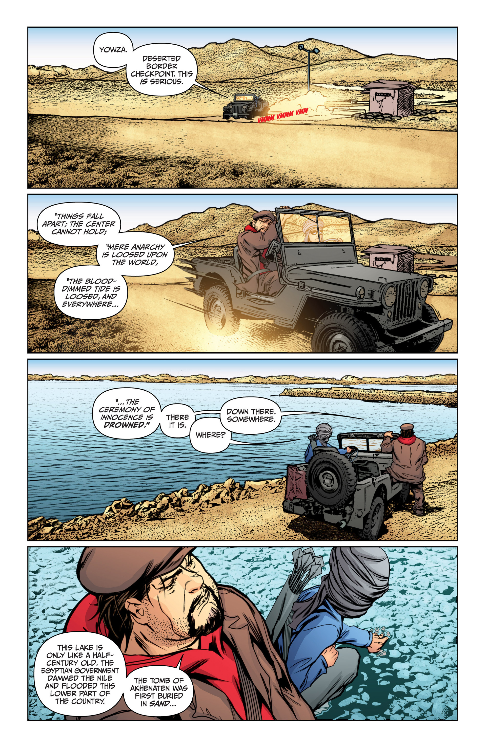 Read online Archer and Armstrong comic -  Issue #16 - 18