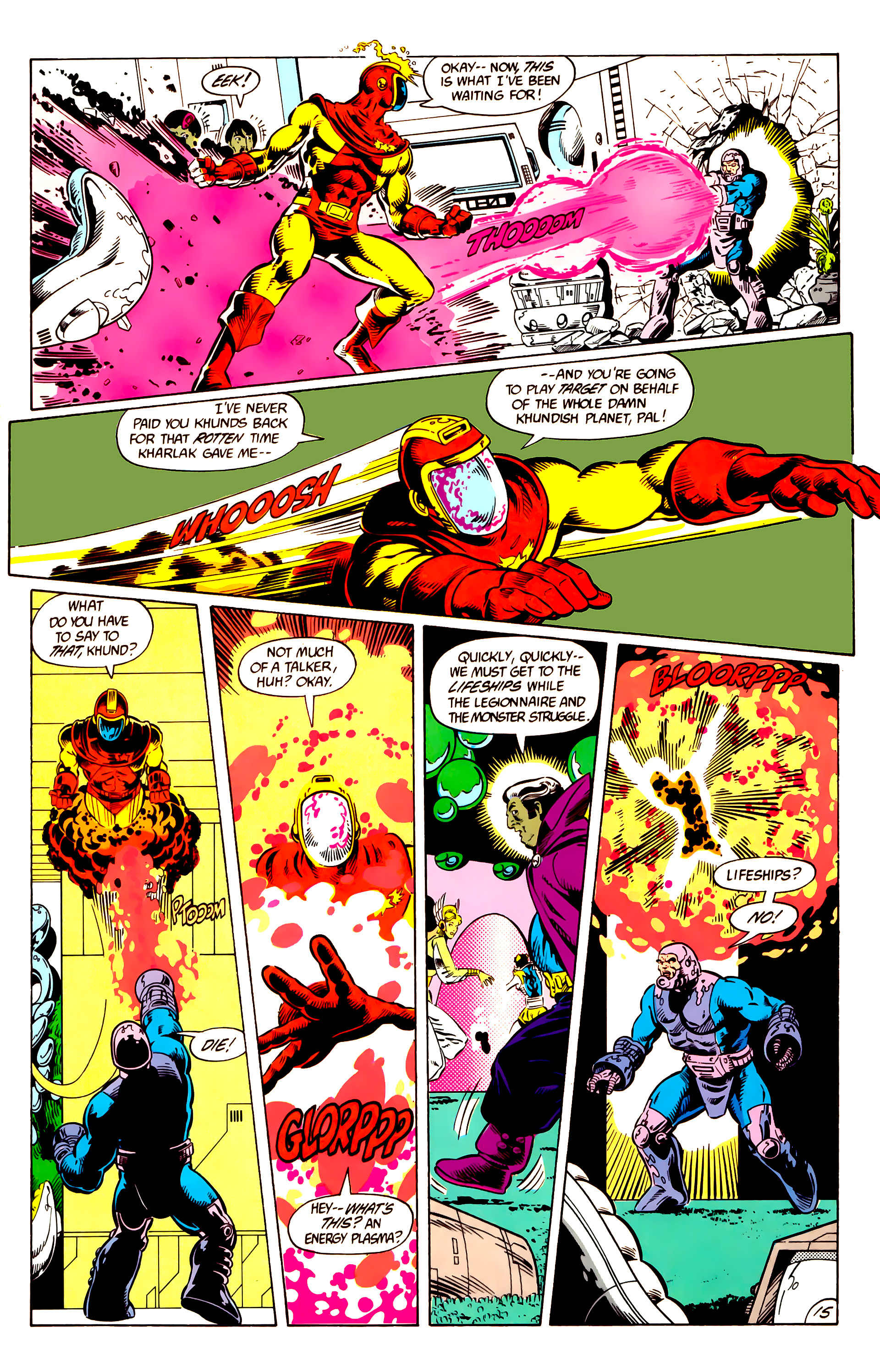 Legion of Super-Heroes (1984) 10 Page 16