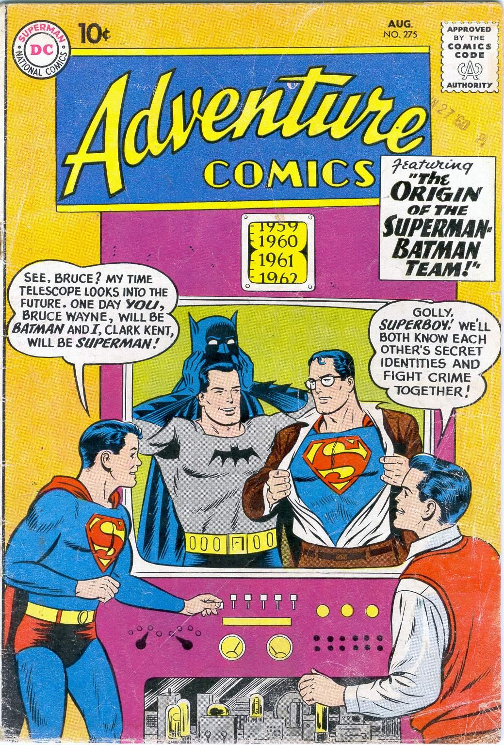 Read online Adventure Comics (1938) comic -  Issue #275 - 1