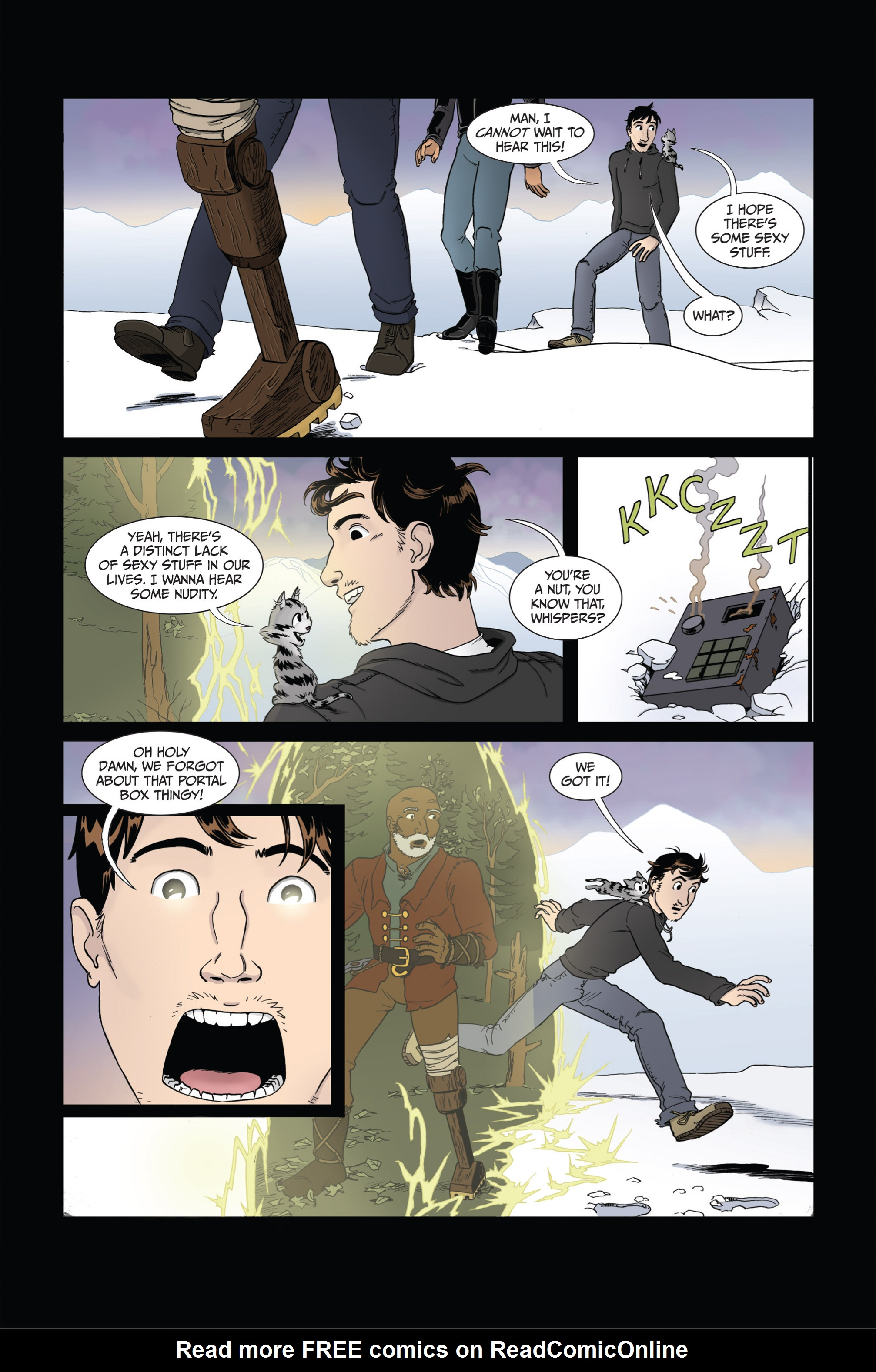 Read online Ehmm Theory: Everything & Small Doses comic -  Issue #4 - 23