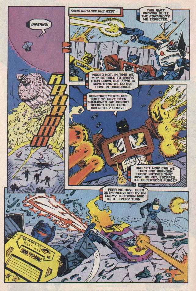 Read online Transformers: Generation 2 comic -  Issue #8 - 17
