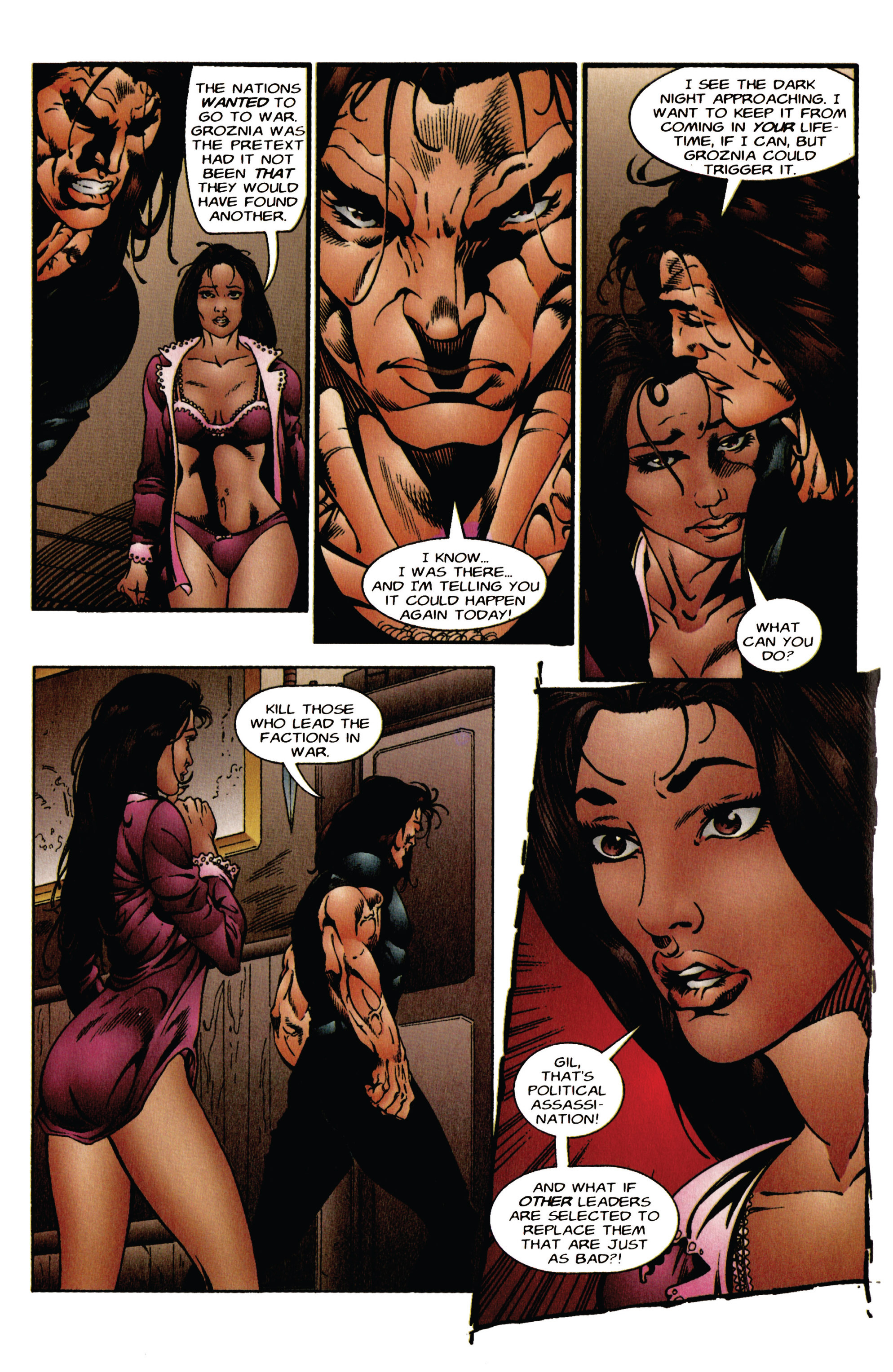 Read online Eternal Warrior (1992) comic -  Issue #41 - 8