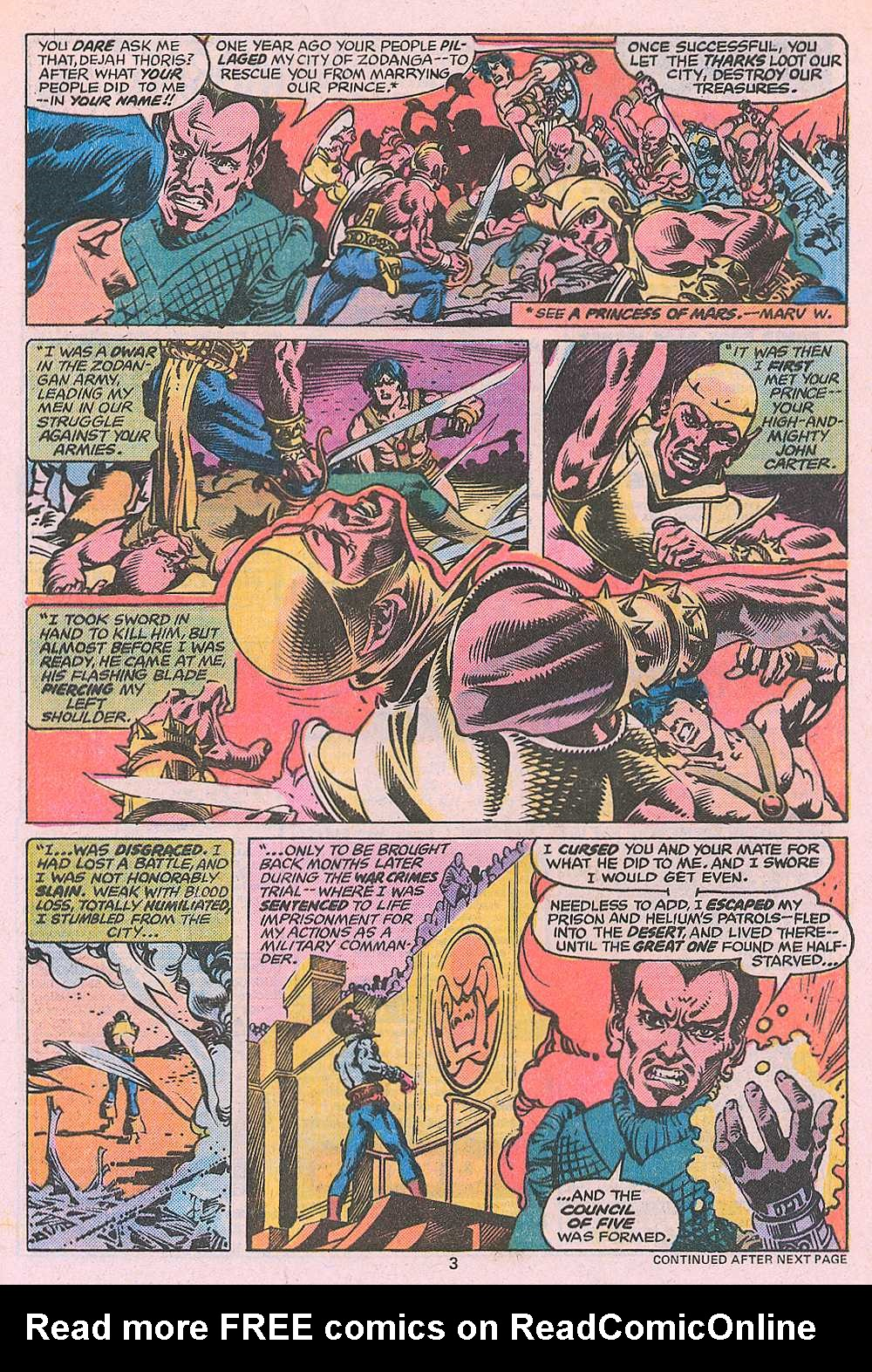 John Carter Warlord of Mars issue 3 - Page 5