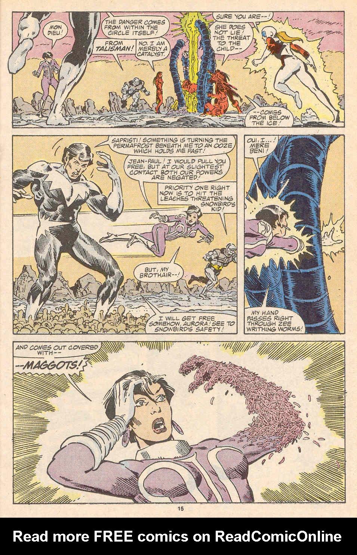 Read online Alpha Flight (1983) comic -  Issue #37 - 16
