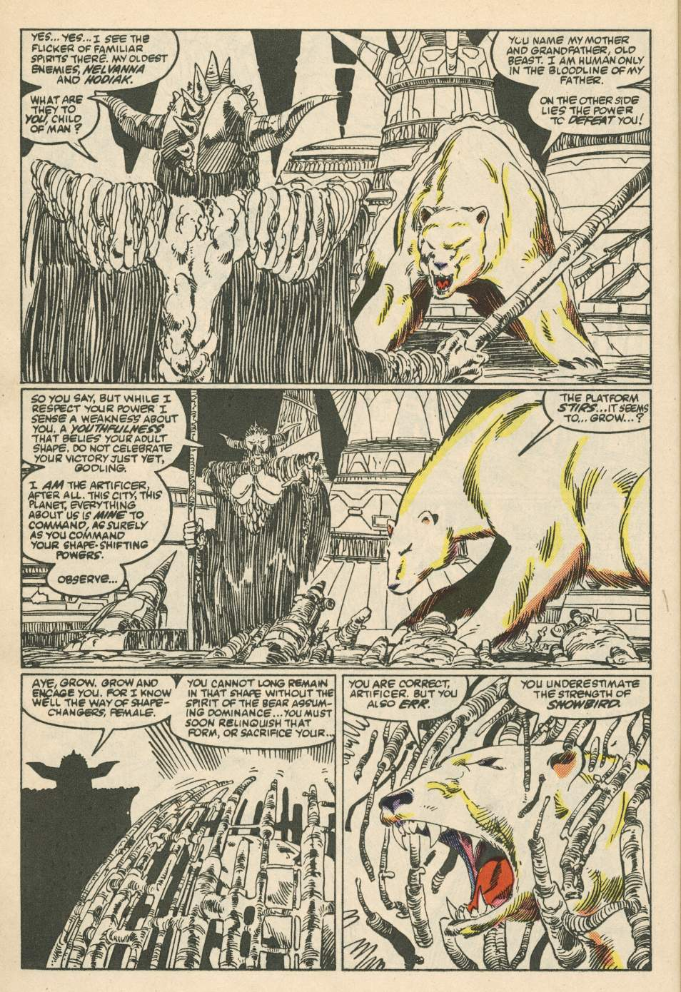 Read online Alpha Flight (1983) comic -  Issue #24 - 22