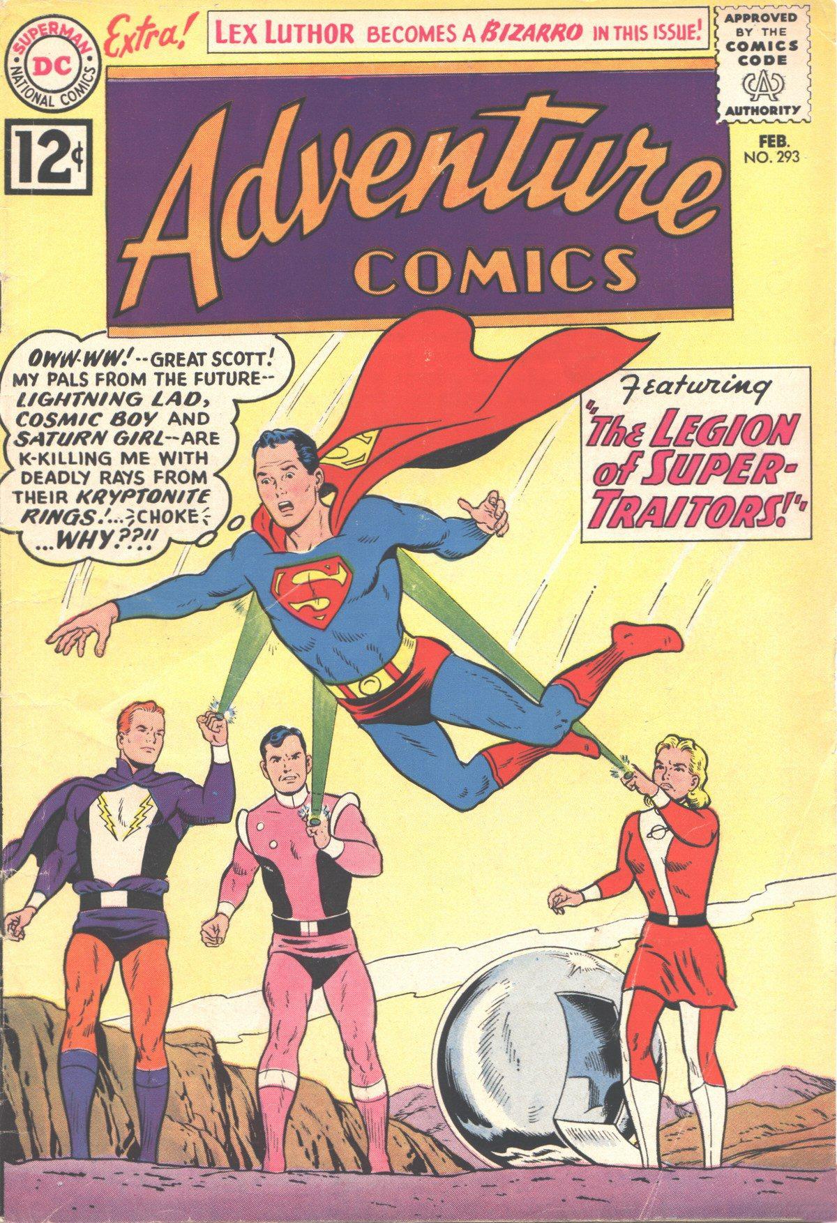 Read online Adventure Comics (1938) comic -  Issue #293 - 1