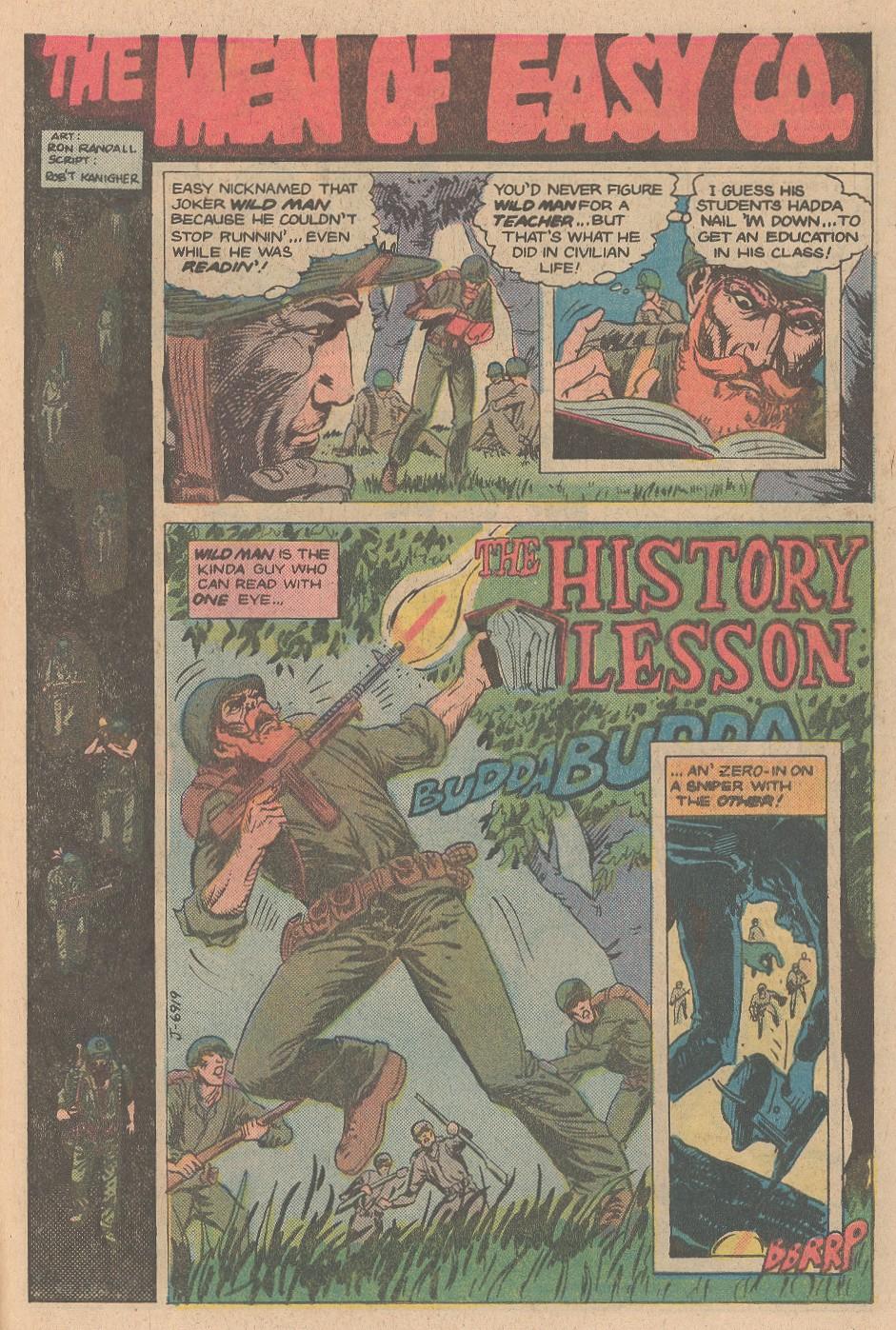 Read online Sgt. Rock comic -  Issue #353 - 25
