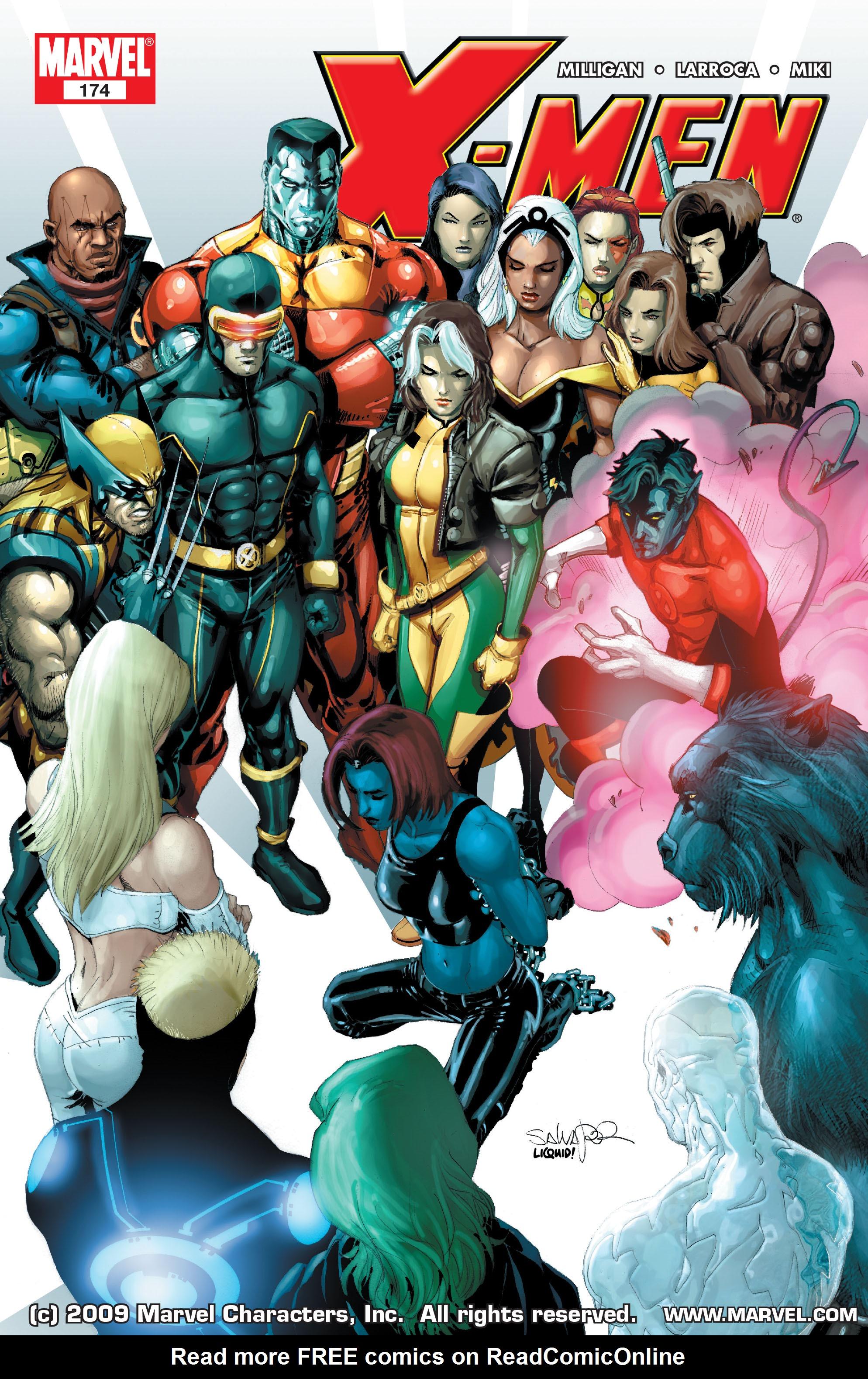 X-Men (1991) 174 Page 0