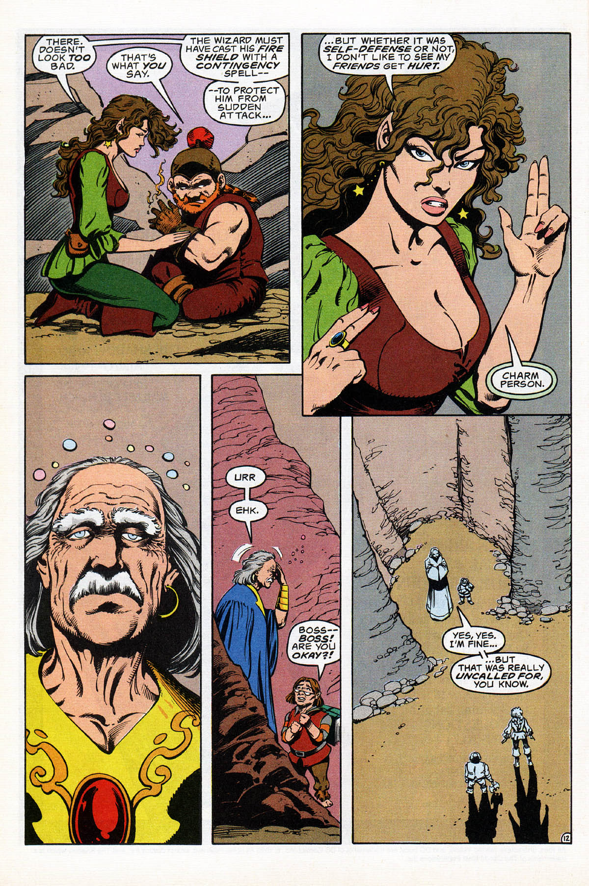 Read online Advanced Dungeons & Dragons comic -  Issue #17 - 15
