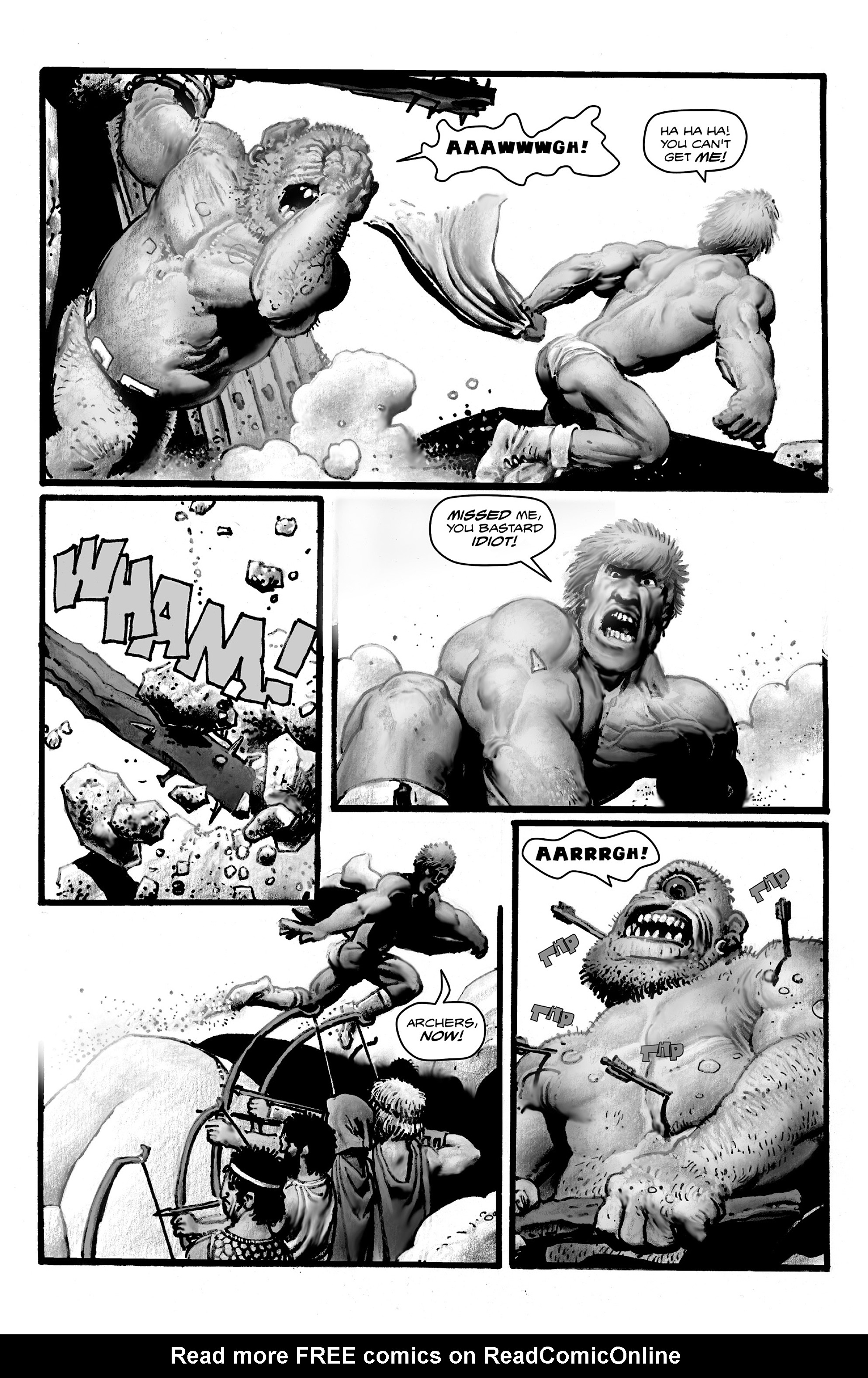Read online Shadows on the Grave comic -  Issue #4 - 23