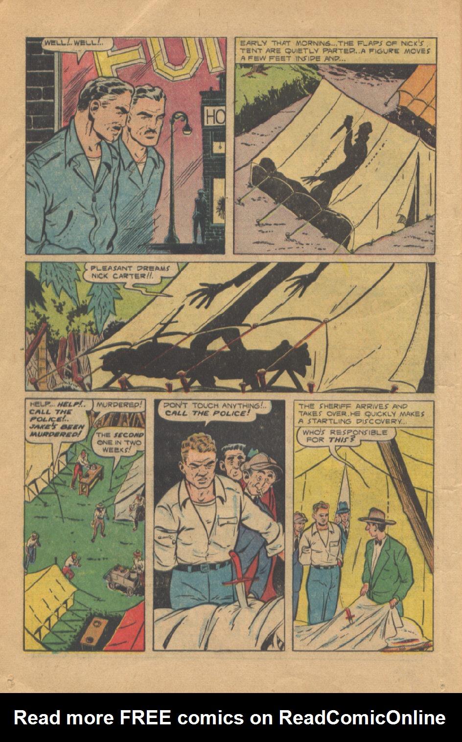 Read online Shadow Comics comic -  Issue #95 - 22