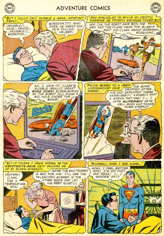 Read online Adventure Comics (1938) comic -  Issue #251 - 8