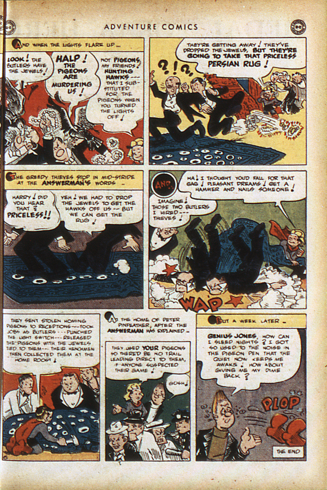Read online Adventure Comics (1938) comic -  Issue #94 - 40