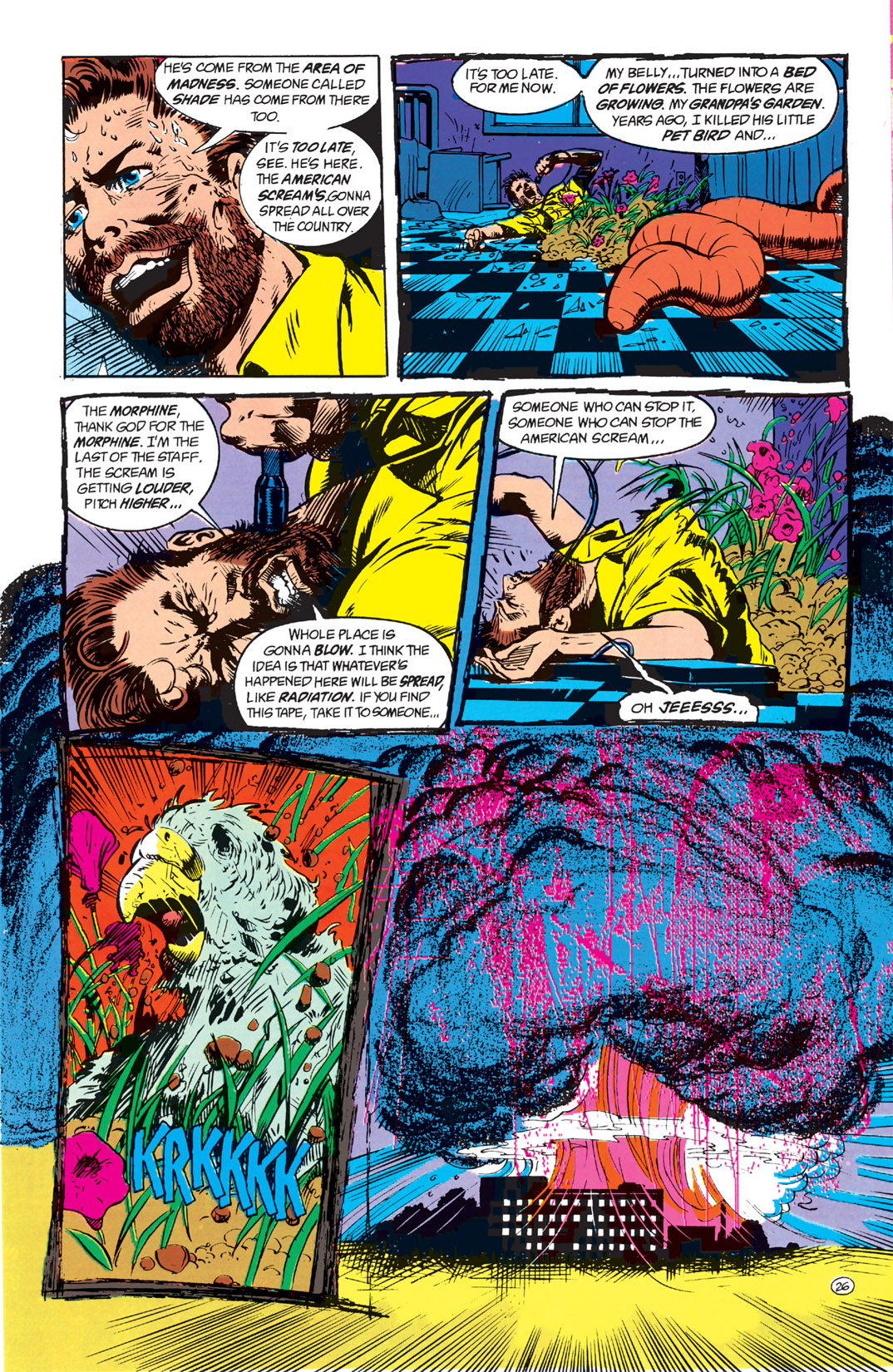 Read online Shade, the Changing Man comic -  Issue #1 - 28