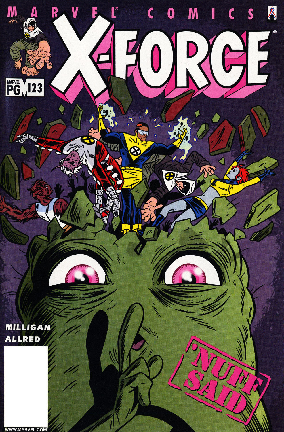 X-Force (1991) 123 Page 1
