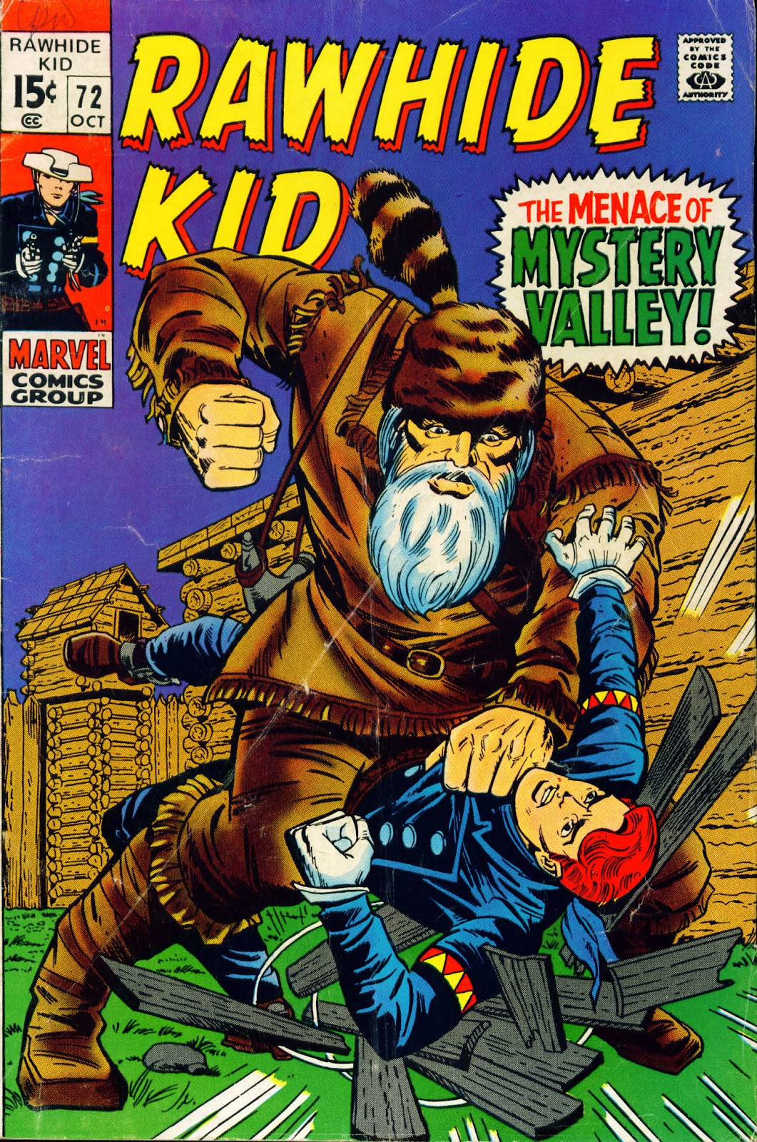 The Rawhide Kid (1955) issue 72 - Page 1