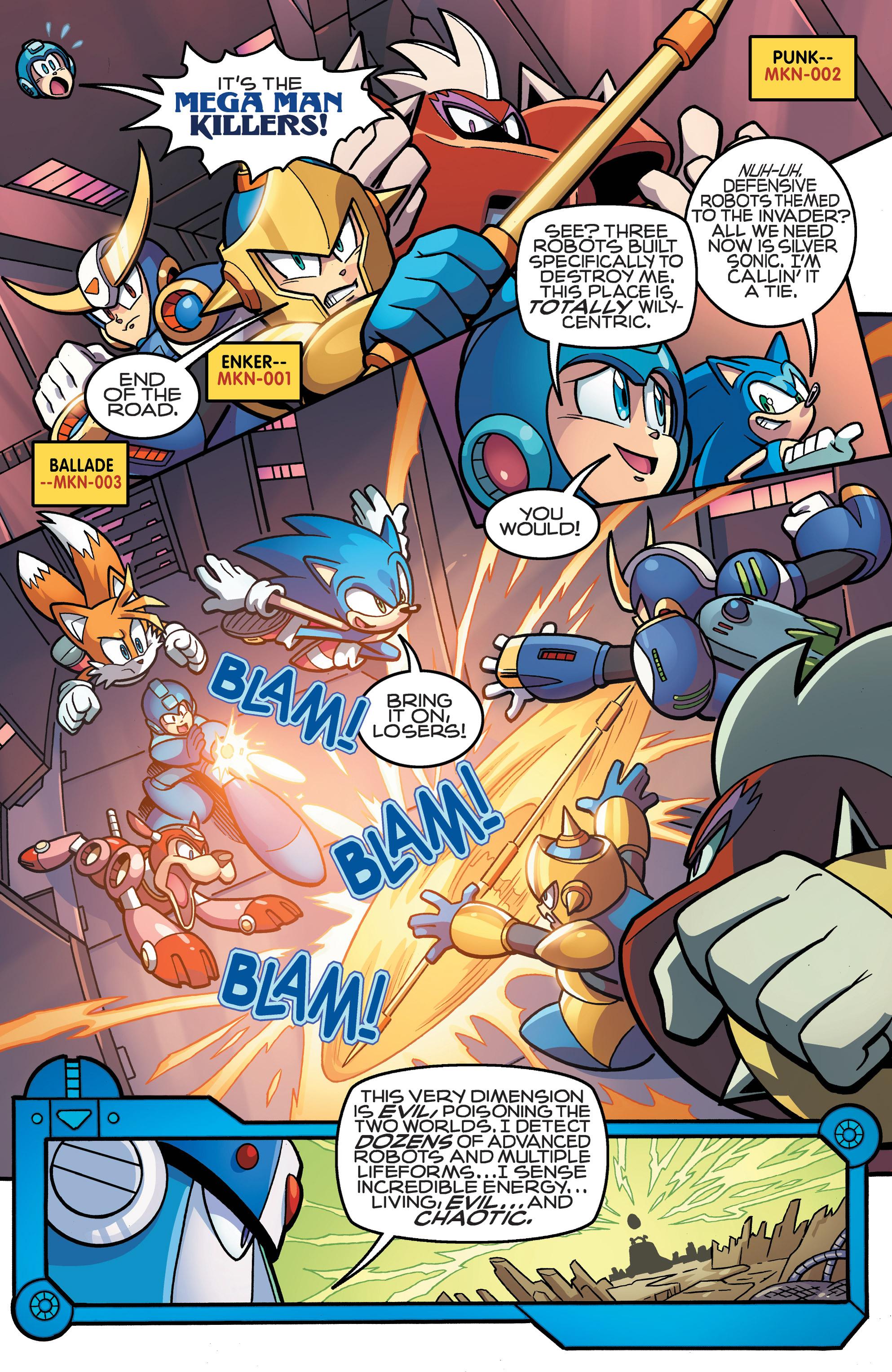 Read online Sonic Mega Man Worlds Collide comic -  Issue # Vol 3 - 58