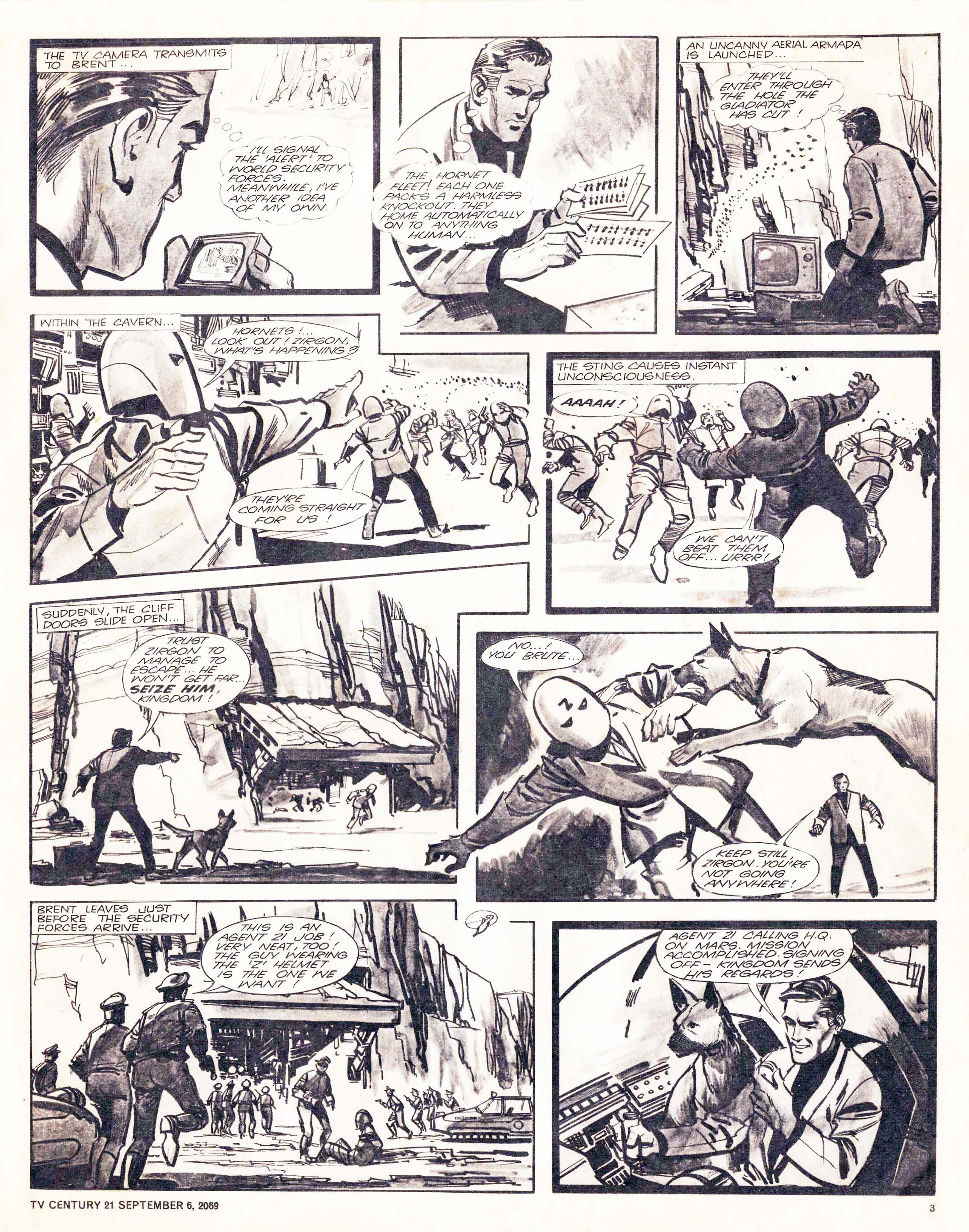 Read online TV Century 21 (TV 21) comic -  Issue #242 - 3