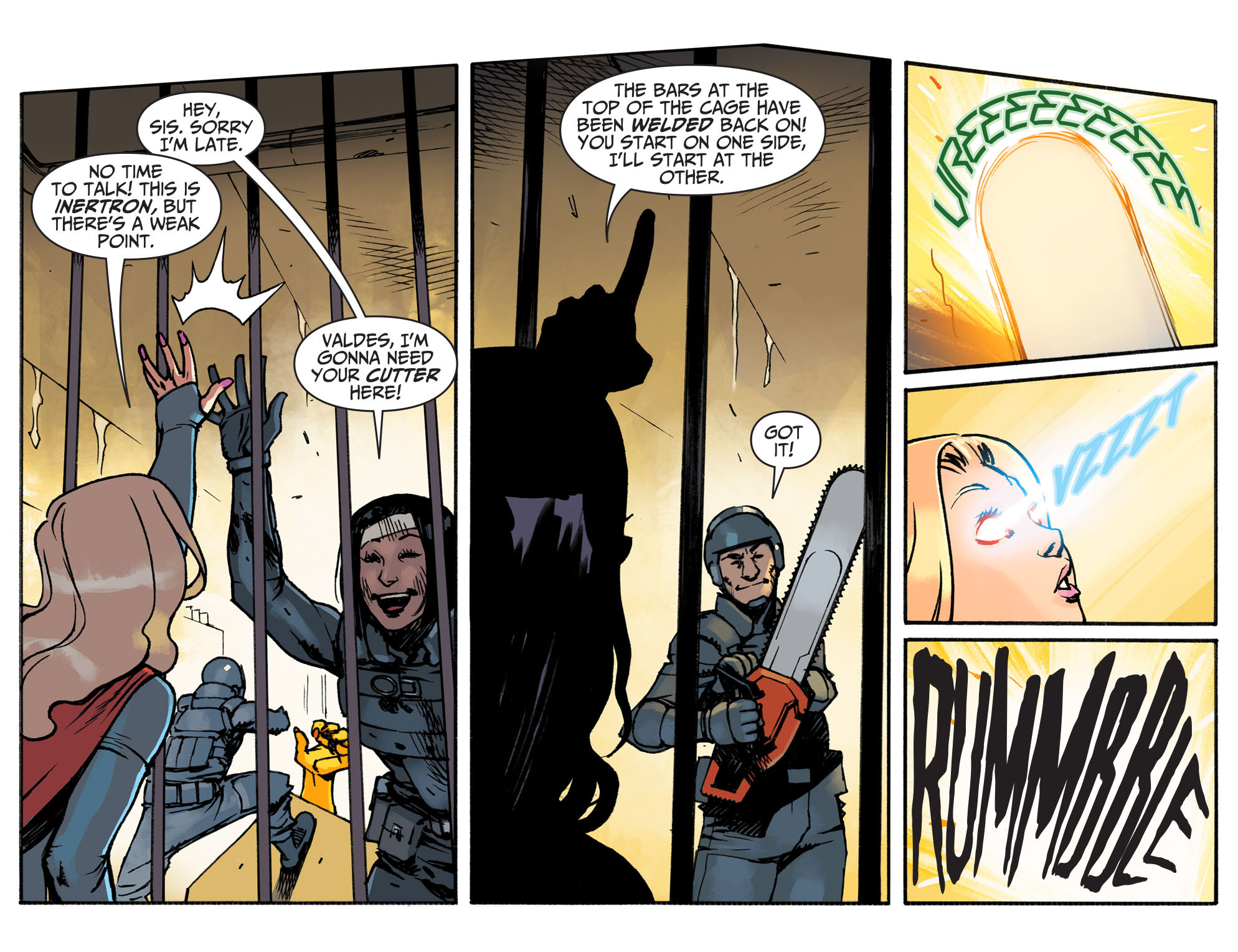 Read online Adventures of Supergirl comic -  Issue #3 - 16