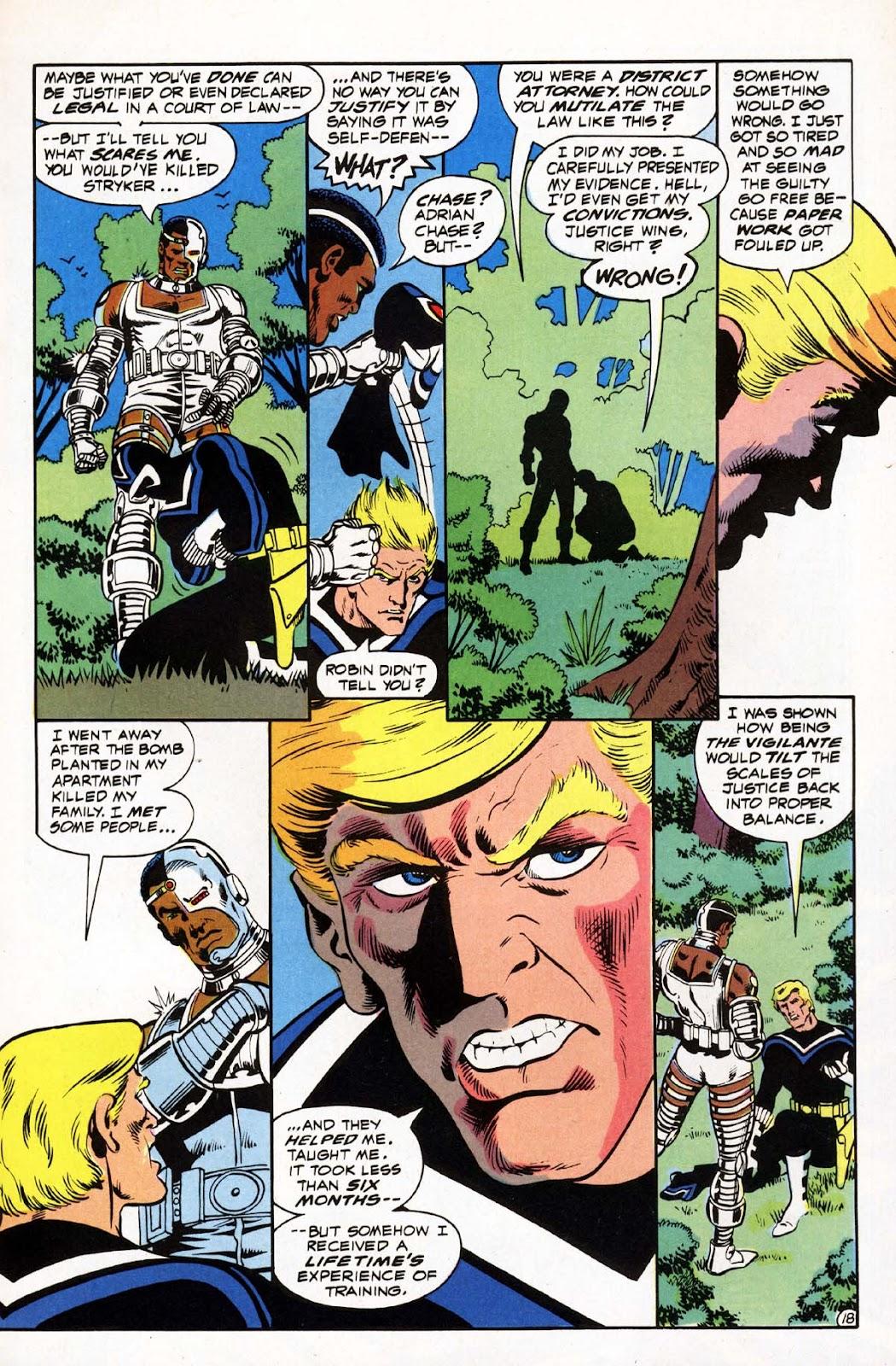 Vigilante (1983) issue 3 - Page 19