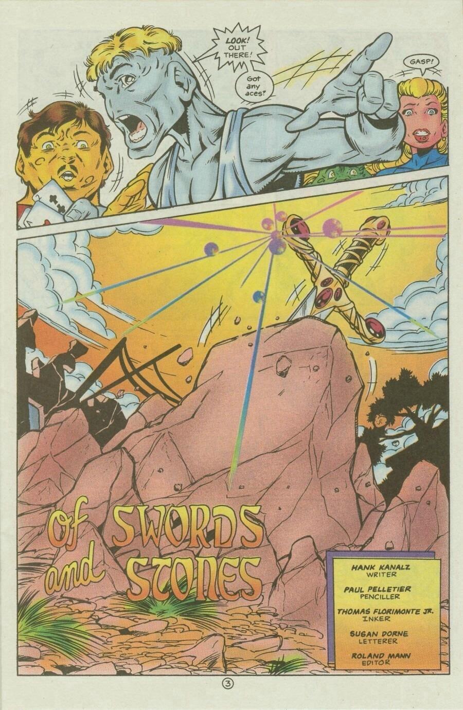 Read online Ex-Mutants comic -  Issue #9 - 5