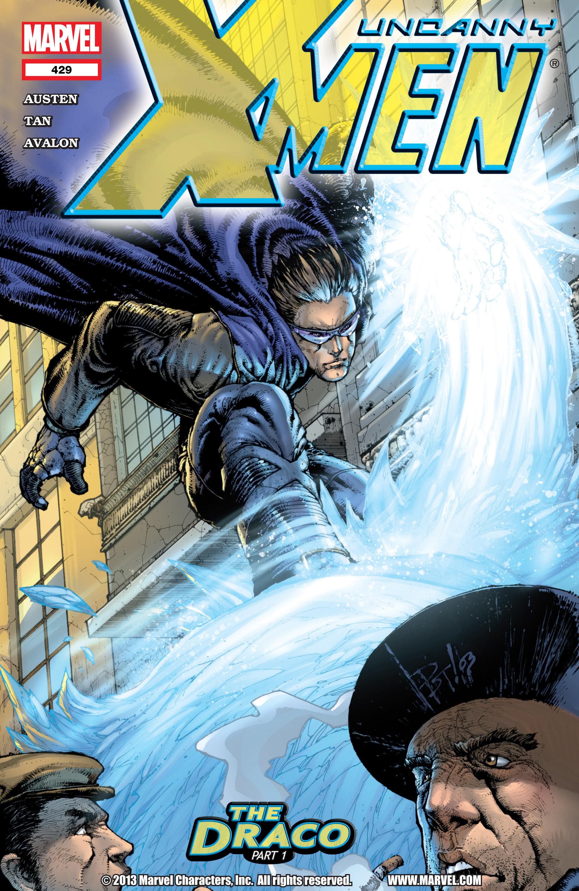 Uncanny X-Men (1963) 429 Page 1