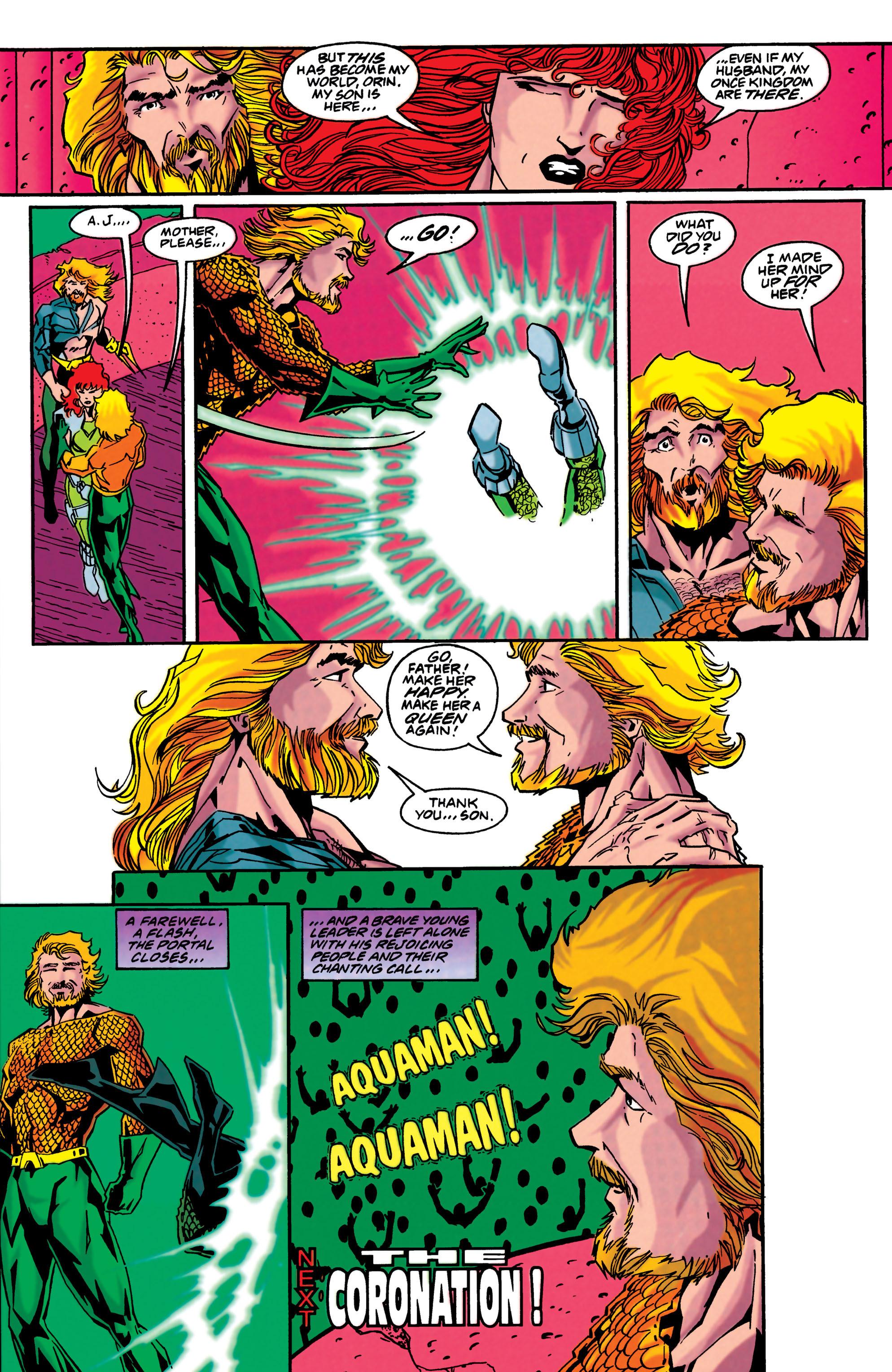 Read online Aquaman (1994) comic -  Issue #48 - 22