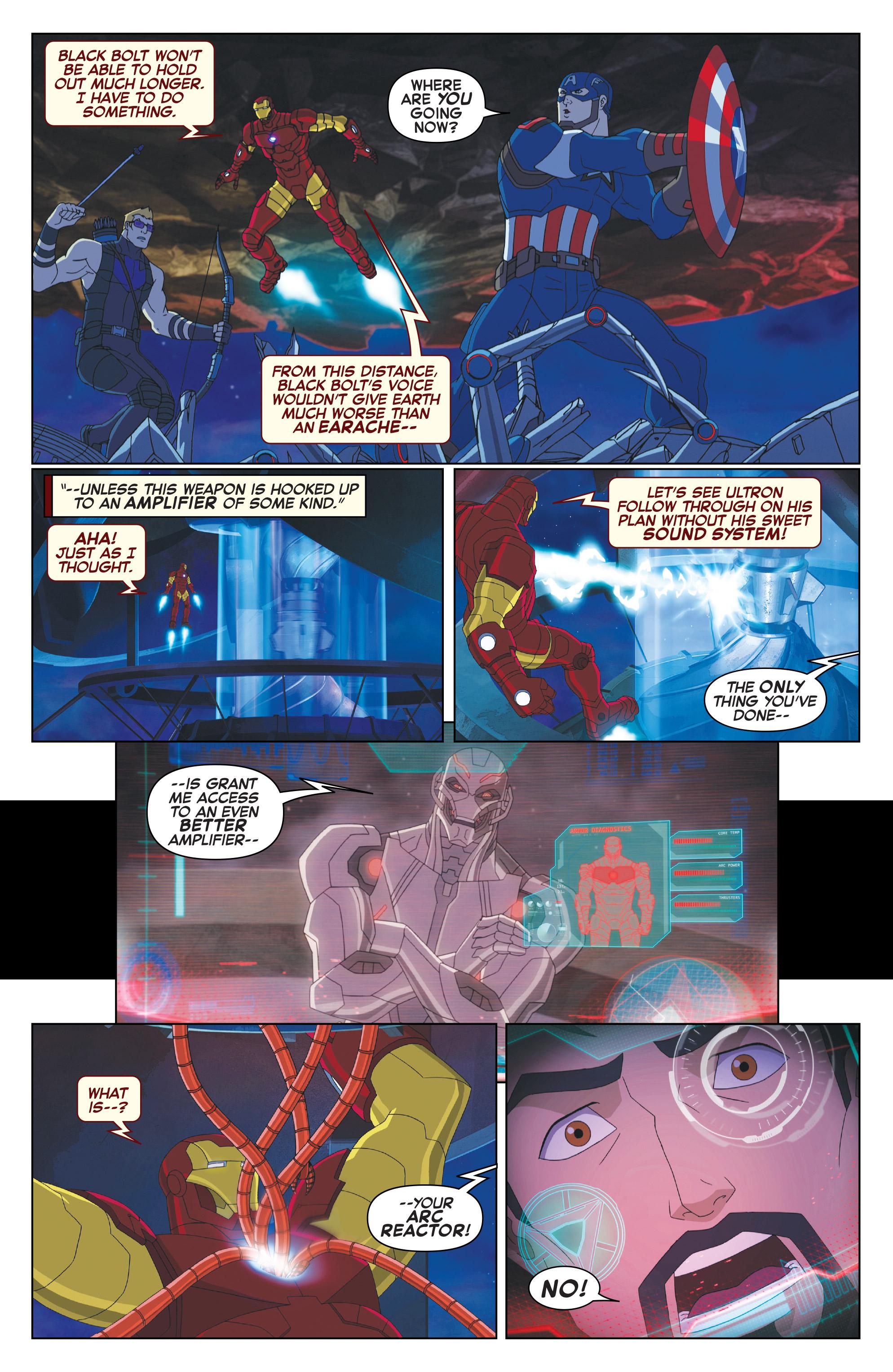 Read online Marvel Universe Avengers: Ultron Revolution comic -  Issue #10 - 16