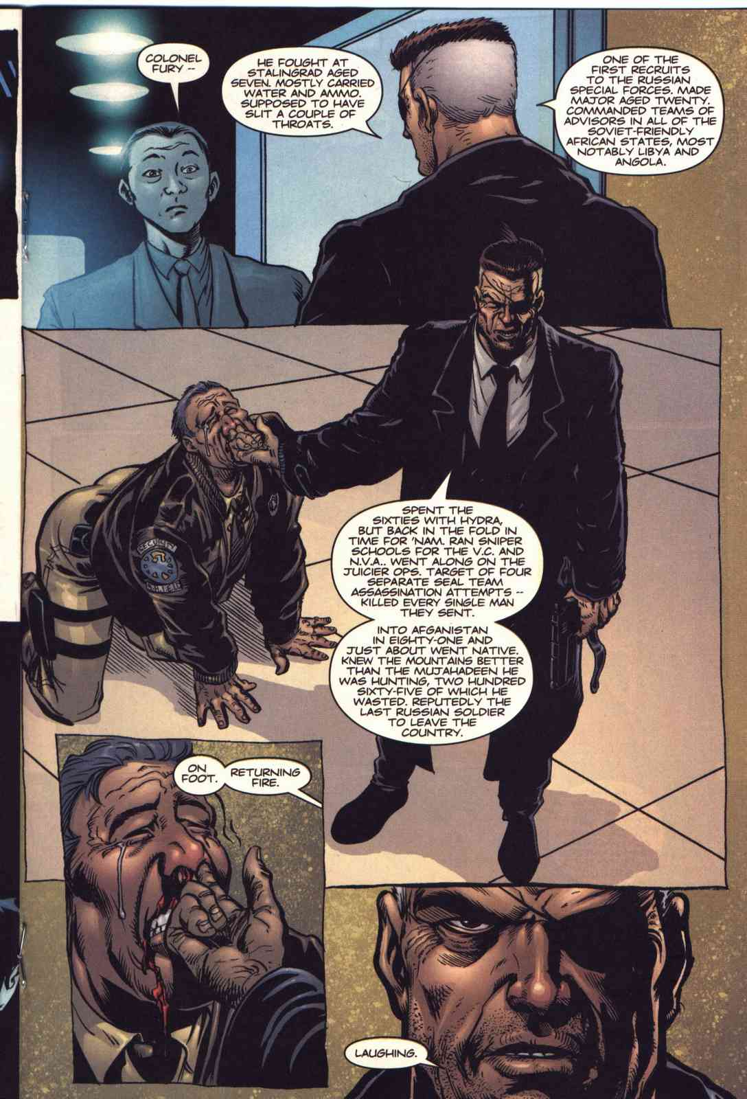 Read online Fury comic -  Issue #2 - 14