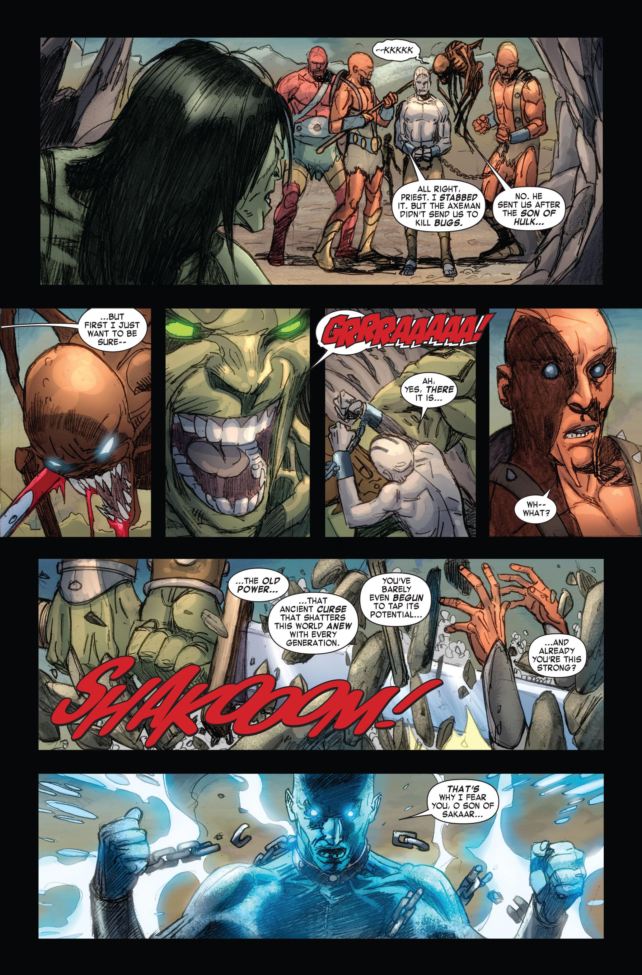 Read online Skaar: Son of Hulk comic -  Issue #4 - 14