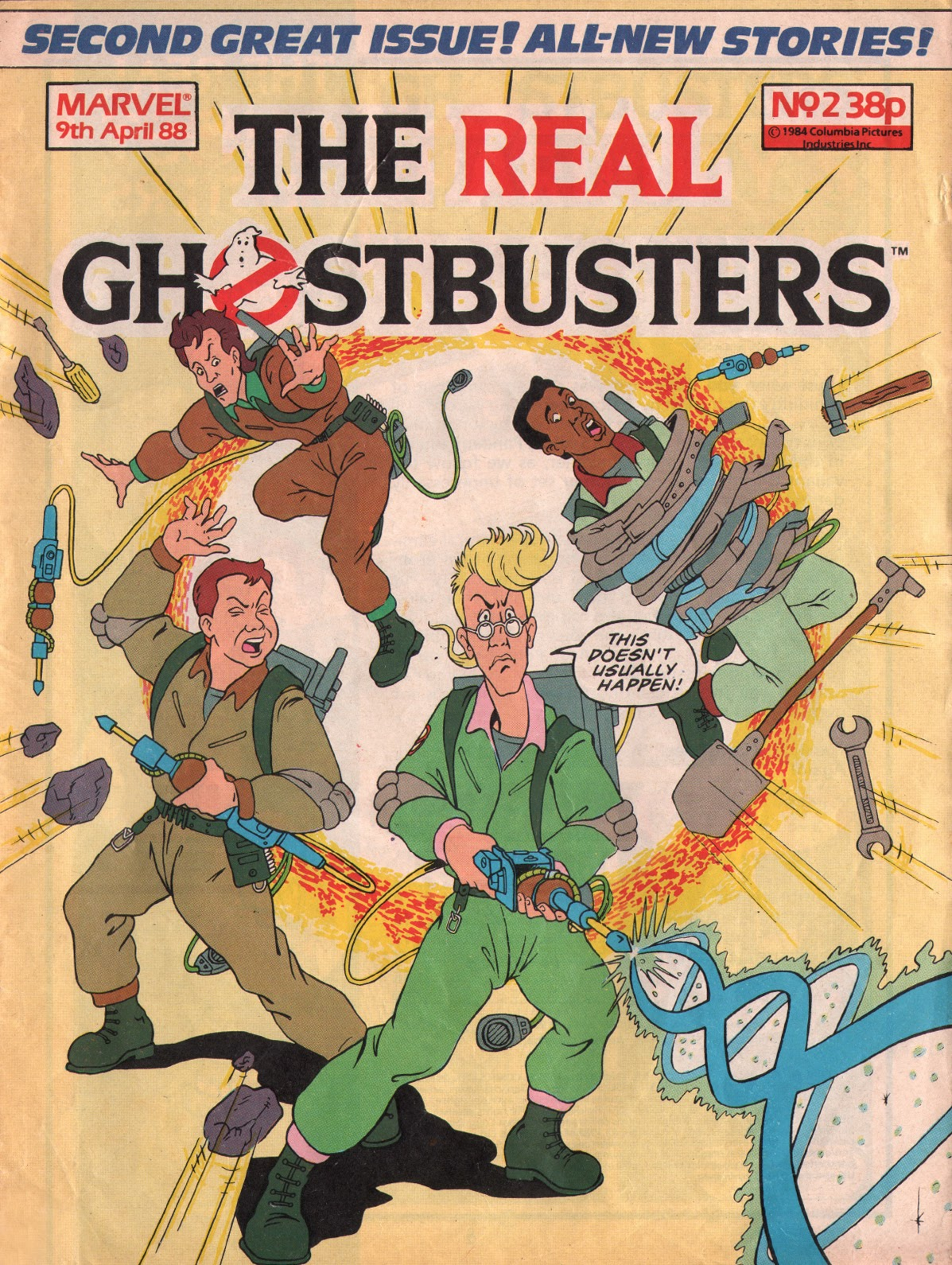 The Real Ghostbusters 2 Page 1
