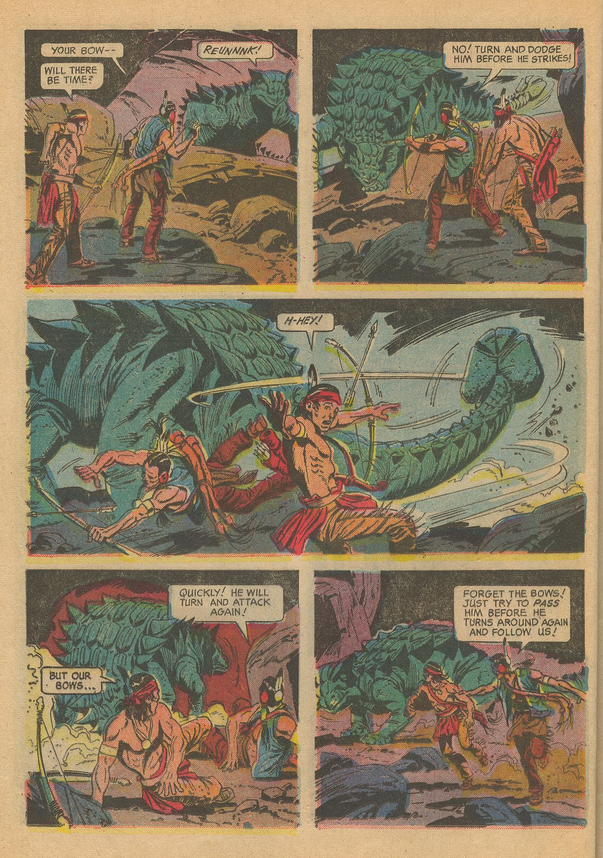 Read online Turok, Son of Stone comic -  Issue #60 - 24