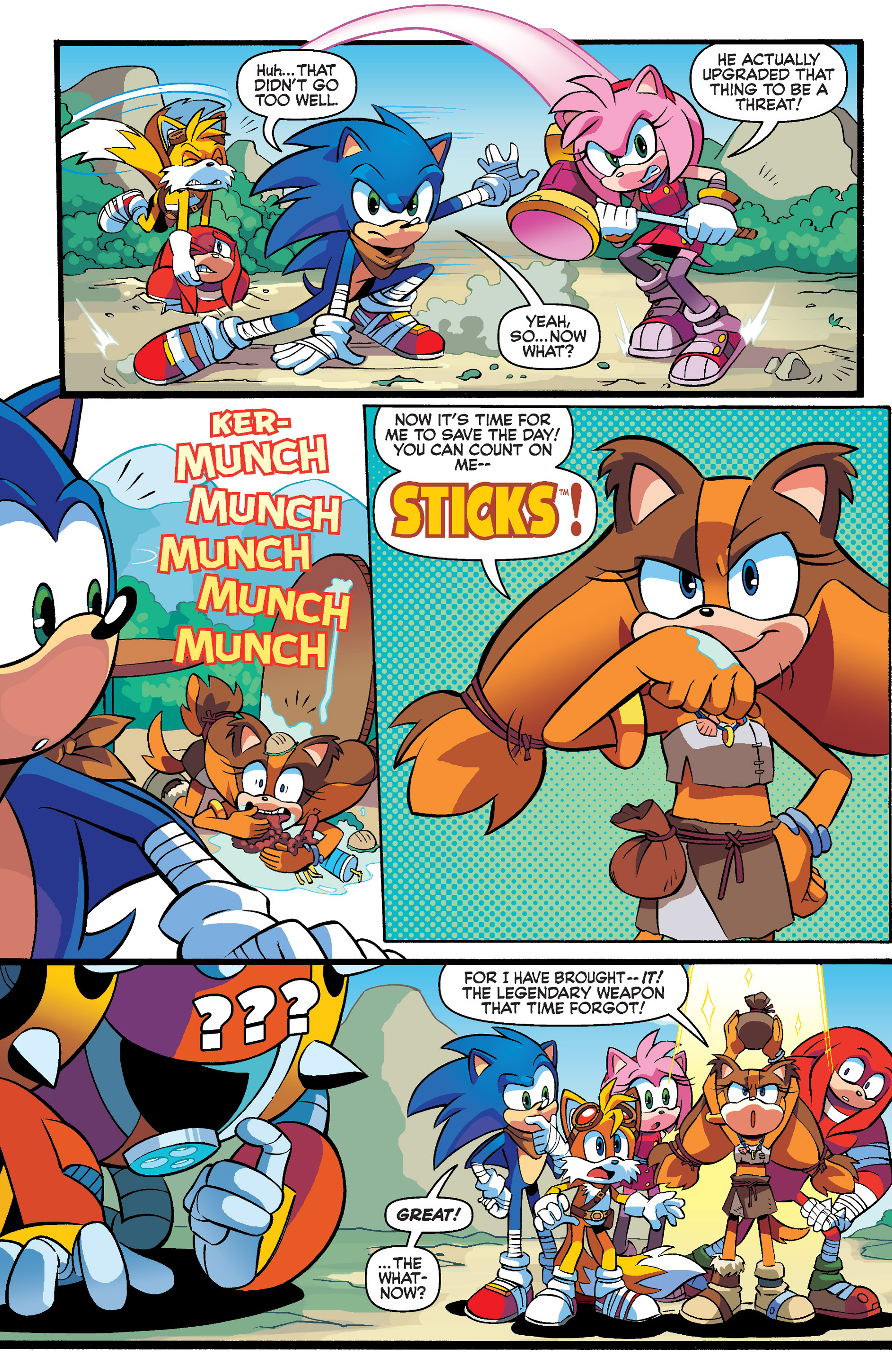 Read online Sonic Boom comic -  Issue #4 - 8
