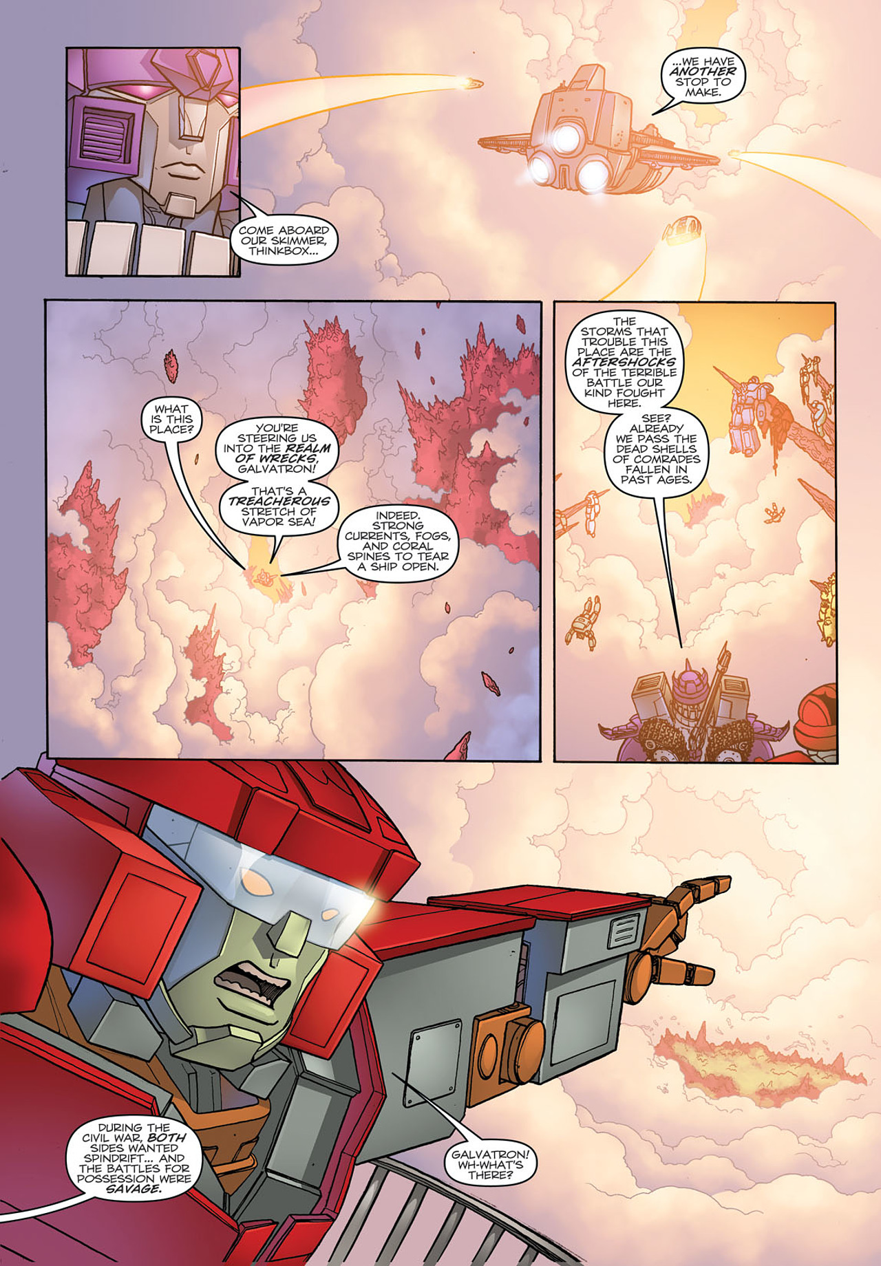 Read online Transformers: Heart of Darkness comic -  Issue #3 - 14