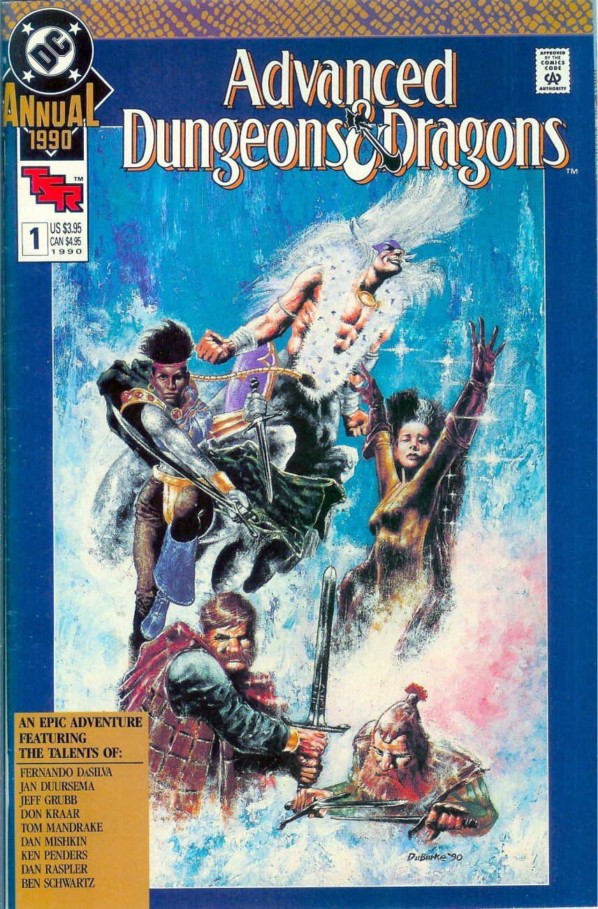 Read online Advanced Dungeons & Dragons comic -  Issue #Advanced Dungeons & Dragons _Annual - 1