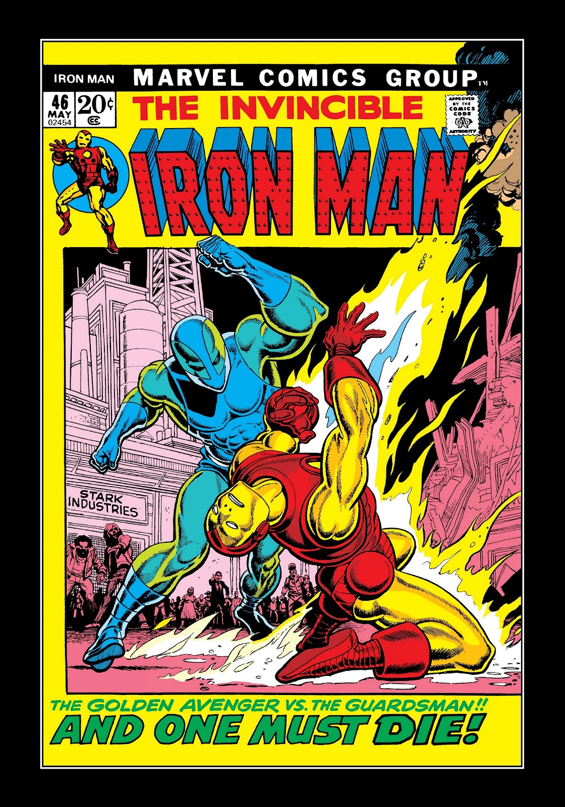 Read online Marvel Masterworks: The Invincible Iron Man comic -  Issue # TPB 8 (Part 2) - 44